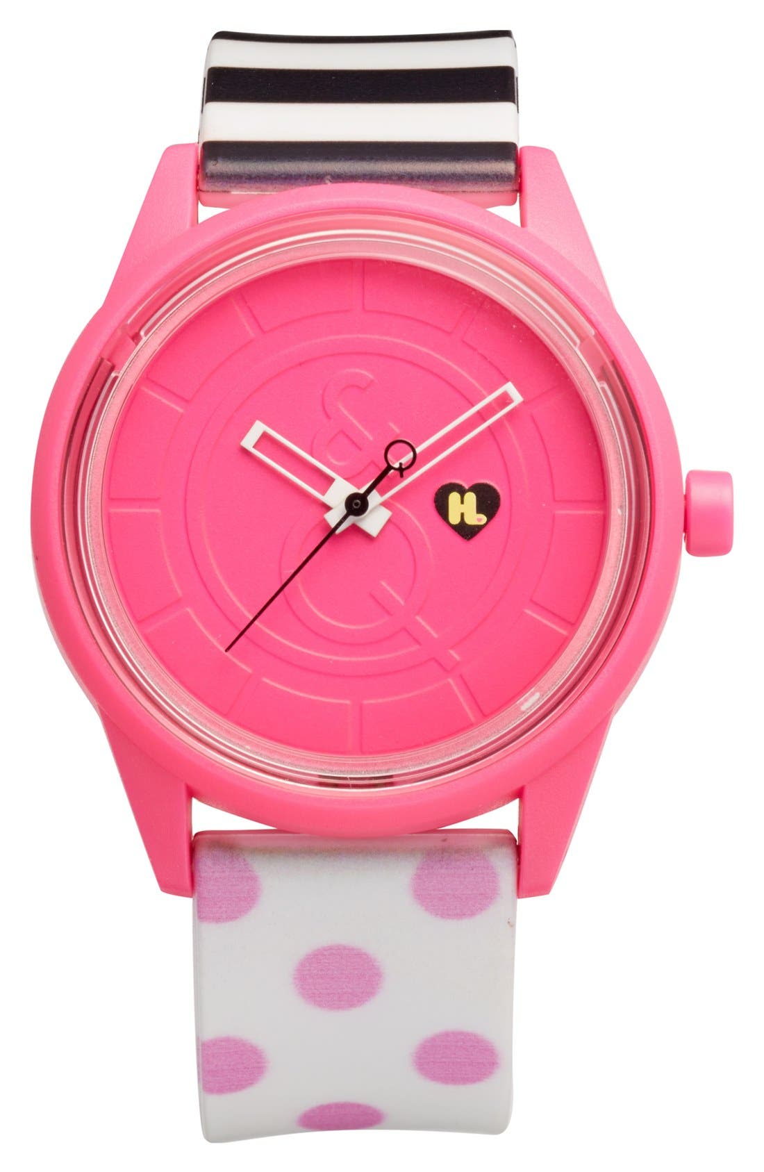 Alternate Image 1 Selected - Harajuku Lovers Resin Solar Watch, 40mm (Limited Edition)