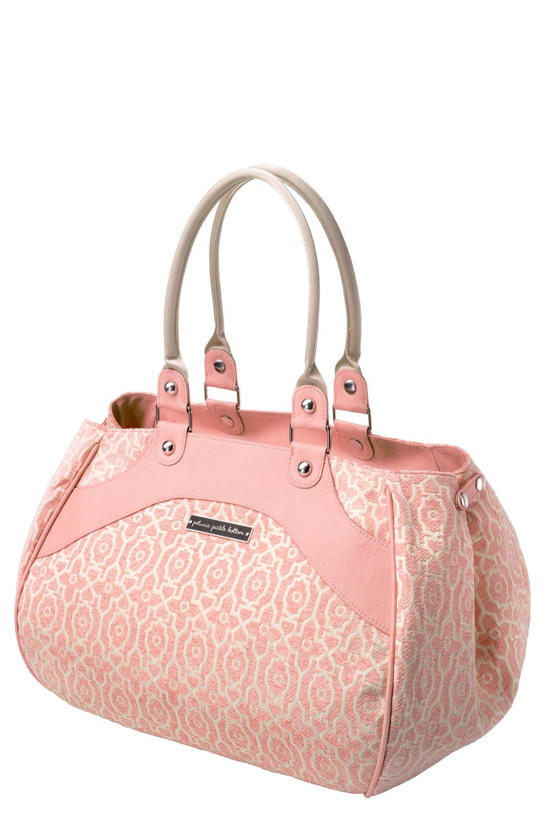 PETUNIA PICKLE BOTTOM 'Wistful Weekend' Diaper Bag