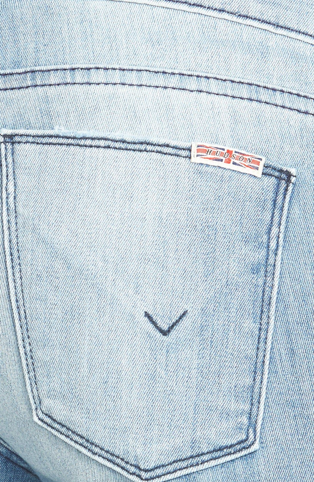 Alternate Image 3  - Hudson Jeans 'Krista' Super Skinny Jeans (Seized)