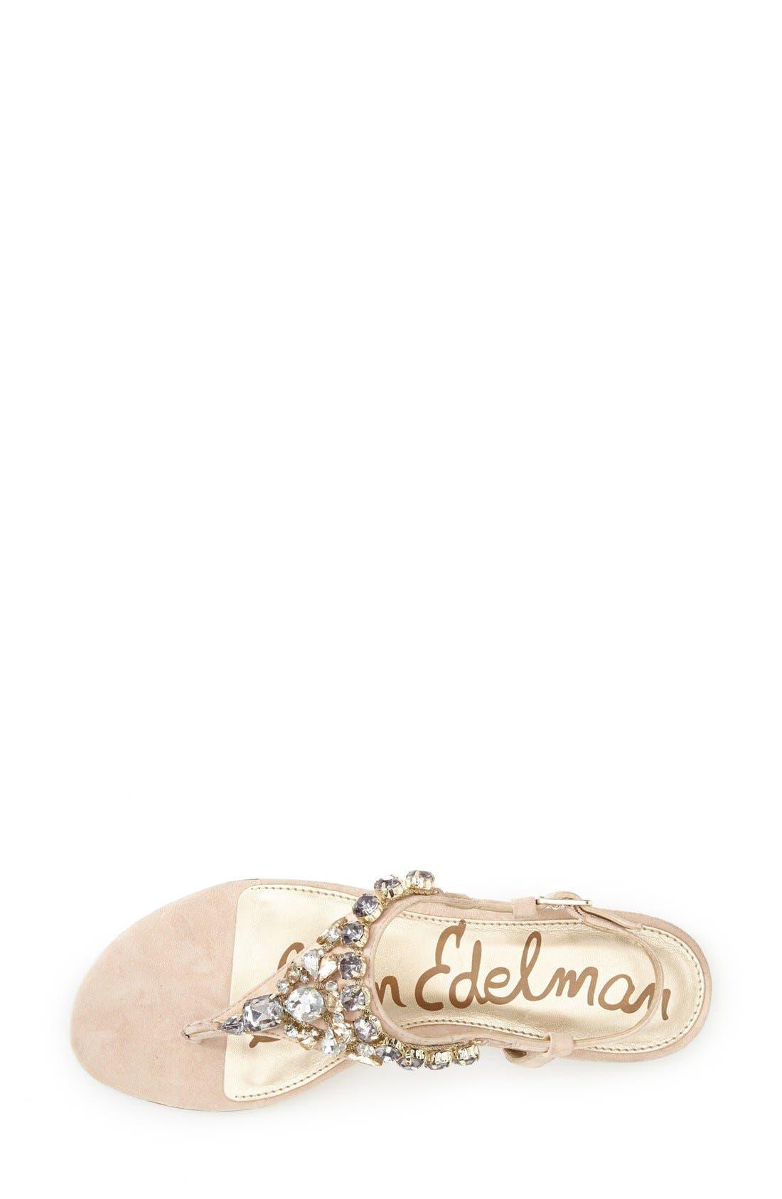 Alternate Image 3  - Sam Edelman 'Dayton' Embellished Sandal (Women)