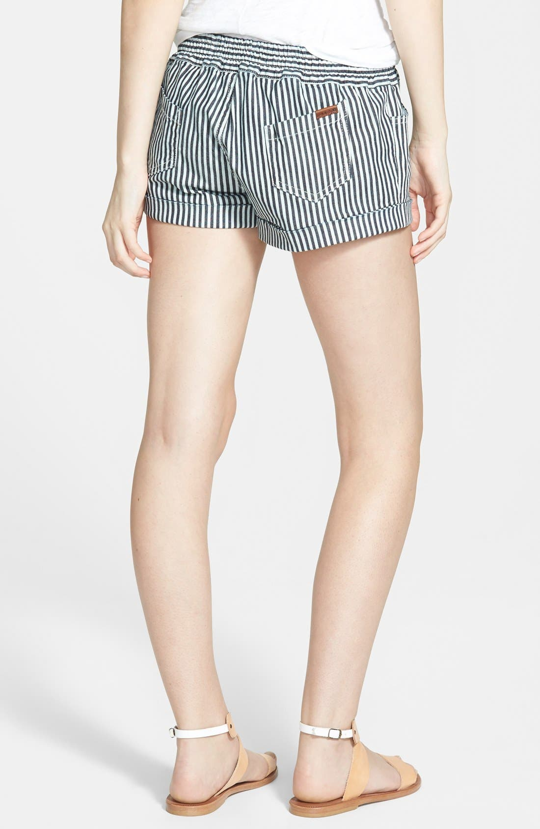 Alternate Image 2  - Joe's 'Lennox' Drawstring Stripe Shorts (Vivie)