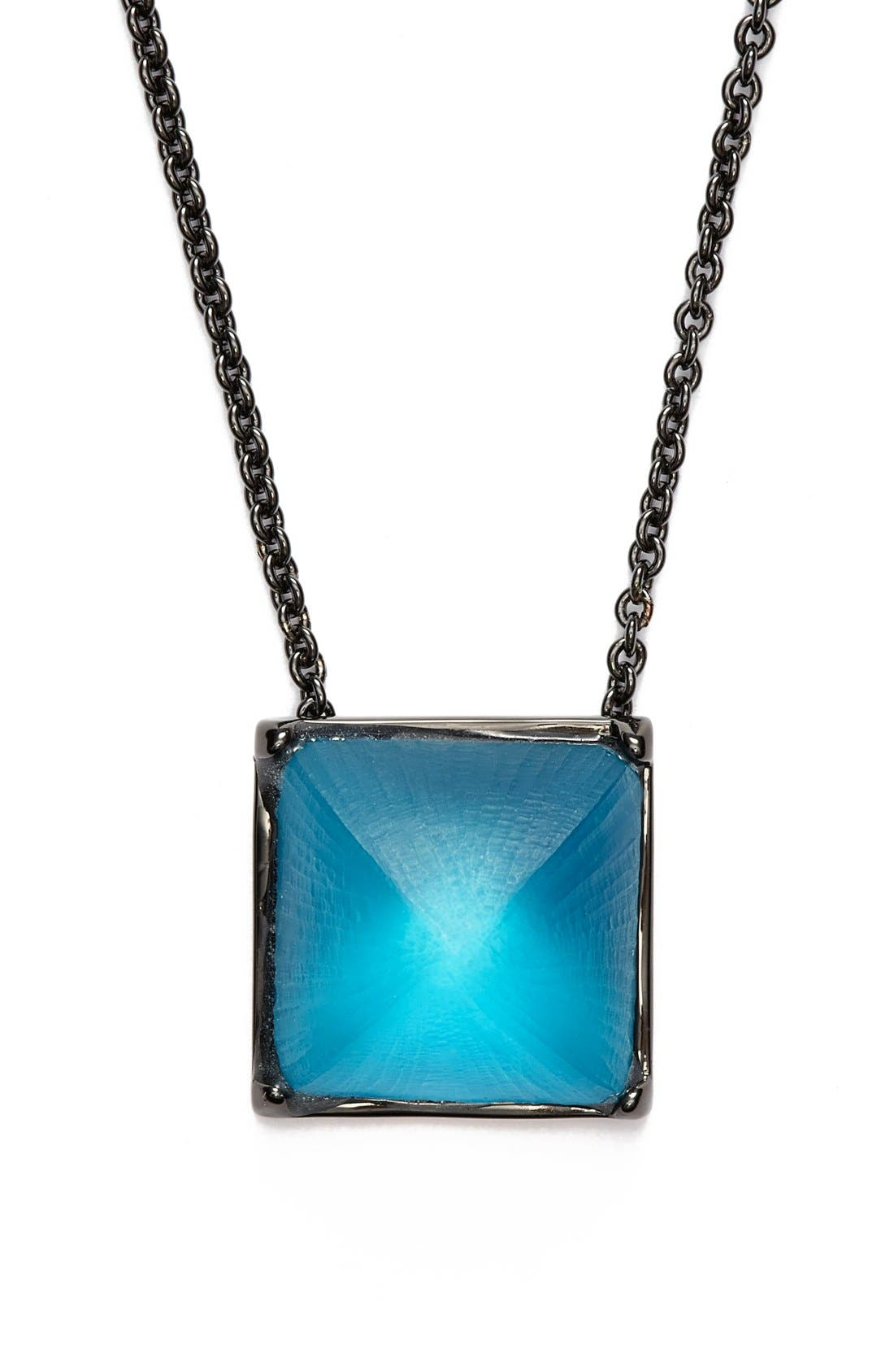 Alternate Image 2  - Alexis Bittar 'Lucite® - Santa Fe Deco' Pyramid Pendant Necklace