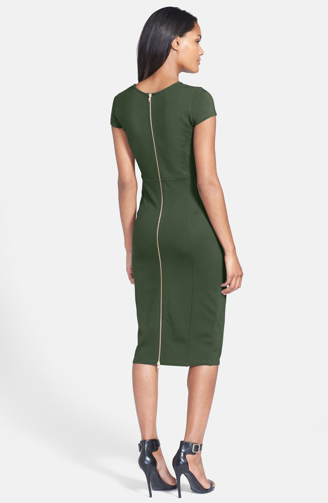 Alternate Image 2  - Felicity & Coco Seamed Pencil Dress (Regular & Petite) (Nordstrom Exclusive)