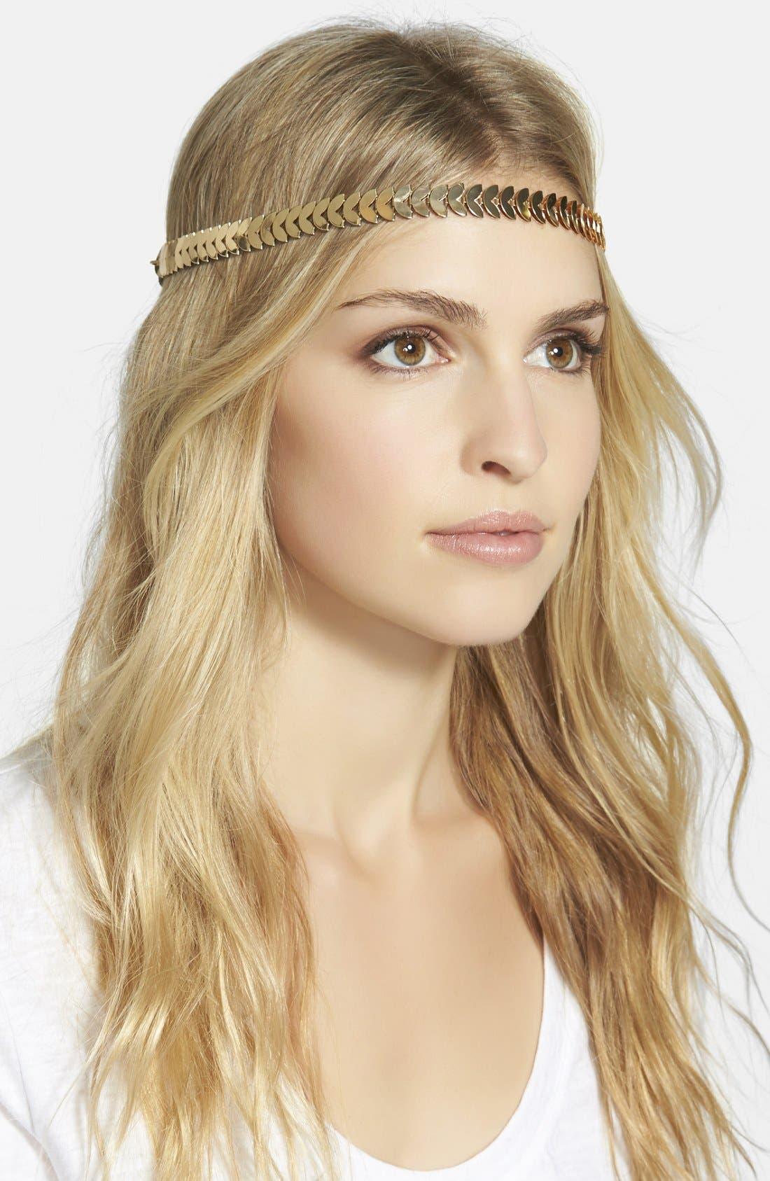 Main Image - Tasha 'Strands of Leaves' Headband