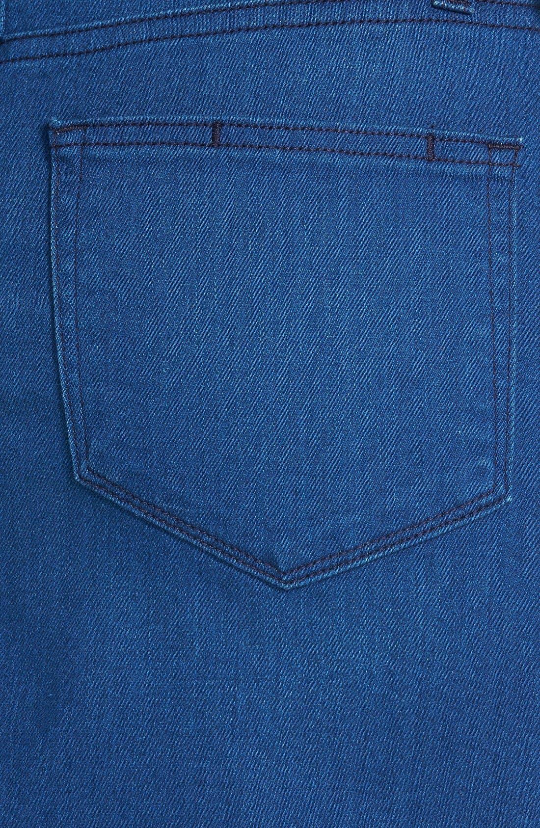 Alternate Image 3  - Paige Denim 'Deirdre' Denim Pencil Skirt (Frenchie No Whiskers)