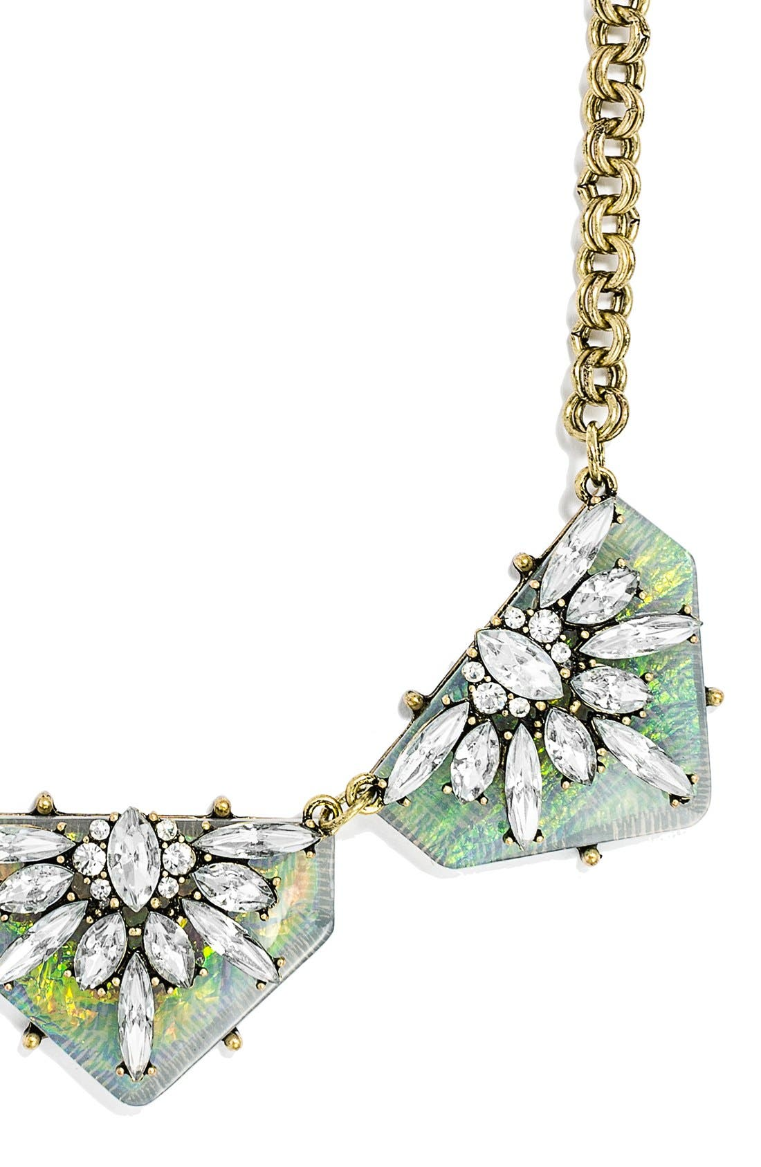 Alternate Image 2  - BaubleBar 'Crystal Prism' Collar Necklace