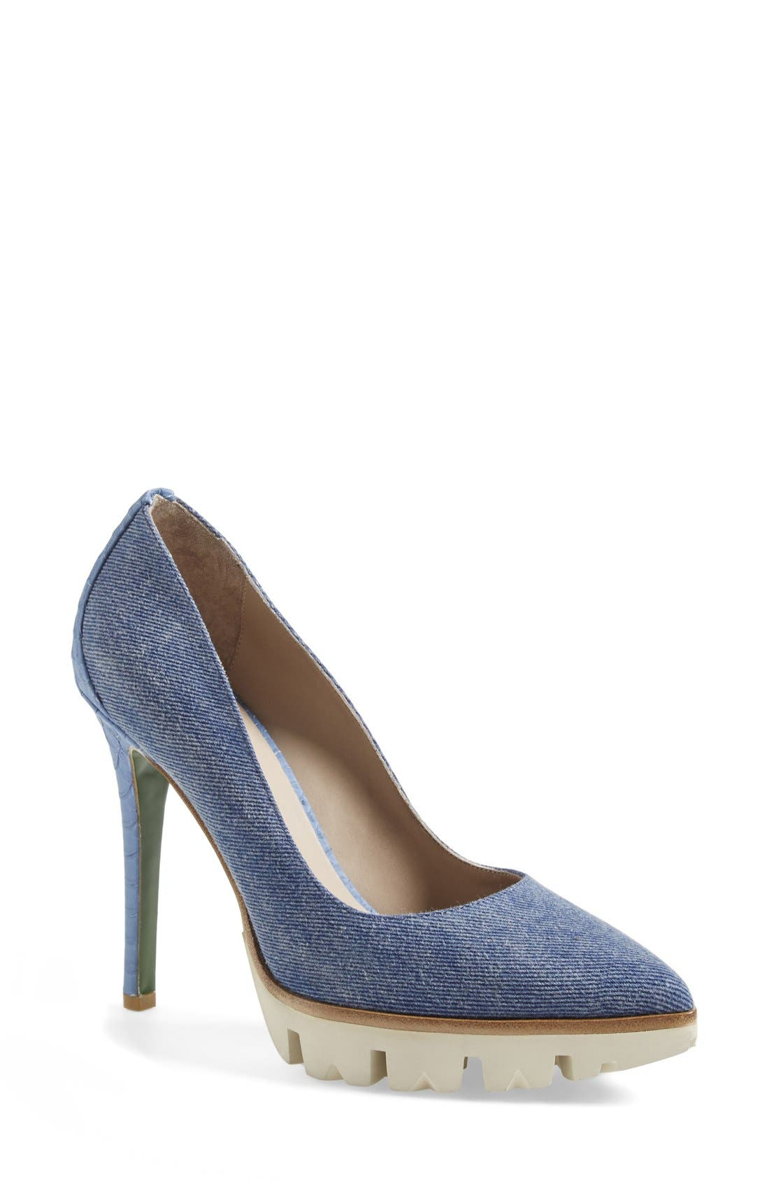 Alternate Image 1 Selected - Donald & Lisa Signature 'Endivasp' Pump (Women)