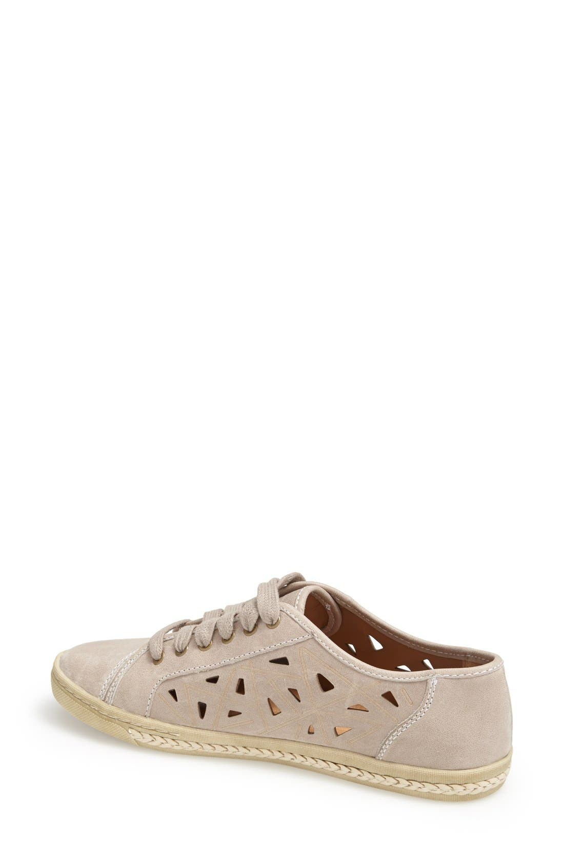 Alternate Image 2  - Earth 'Pomelo' Perforated Leather Sneaker (Women)