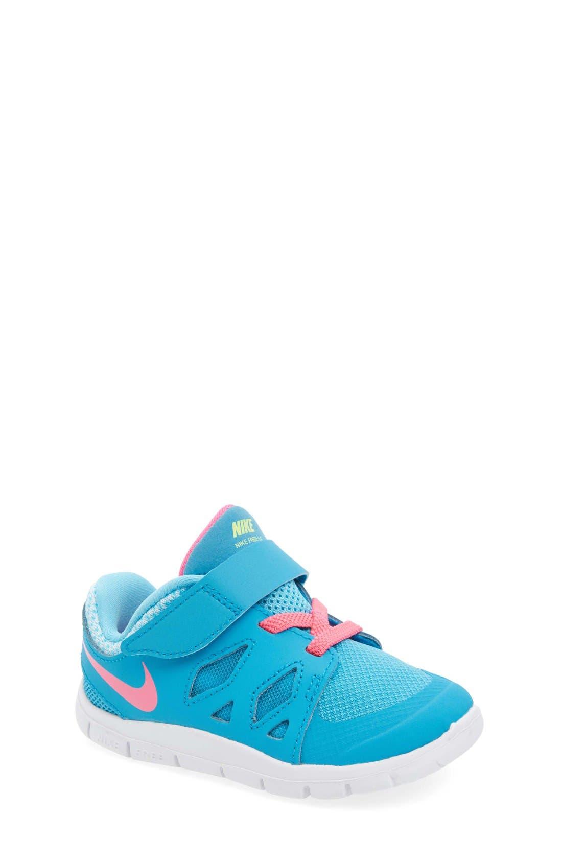 Alternate Image 1 Selected - Nike 'Free 5' Athletic Shoe (Baby, Walker & Toddler)