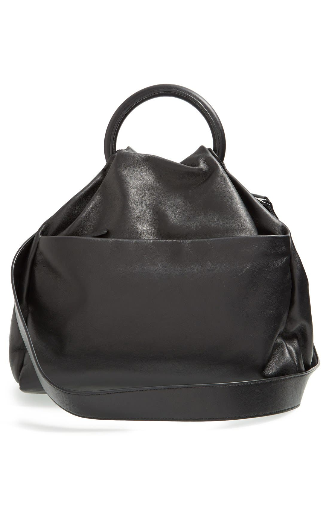 Alternate Image 3  - MARC BY MARC JACOBS 'Hanging Around' Leather Ring Tote