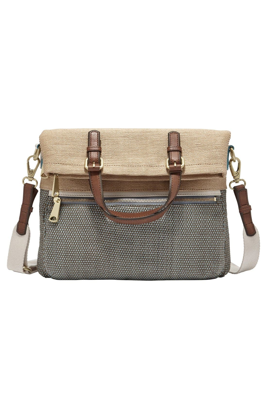 Alternate Image 6  - Fossil 'Explorer' Straw Tote