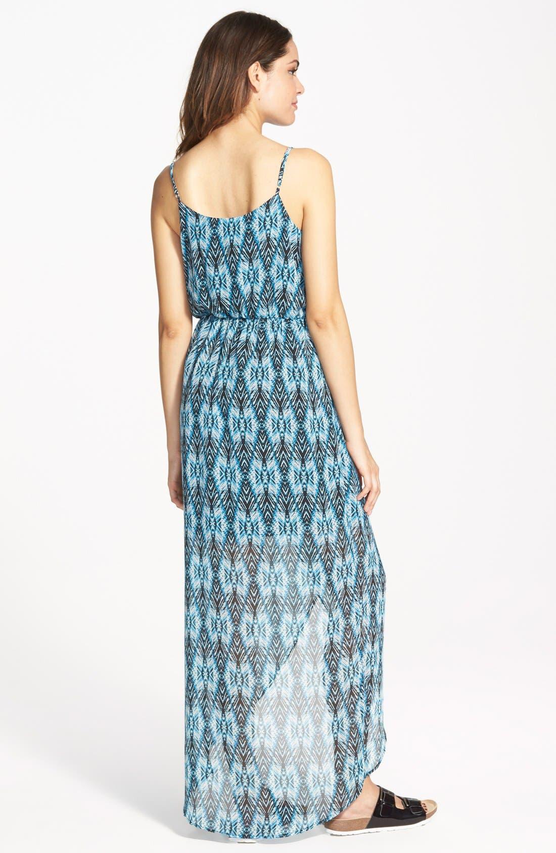 Alternate Image 2  - Lush Tulip Hem Maxi Dress