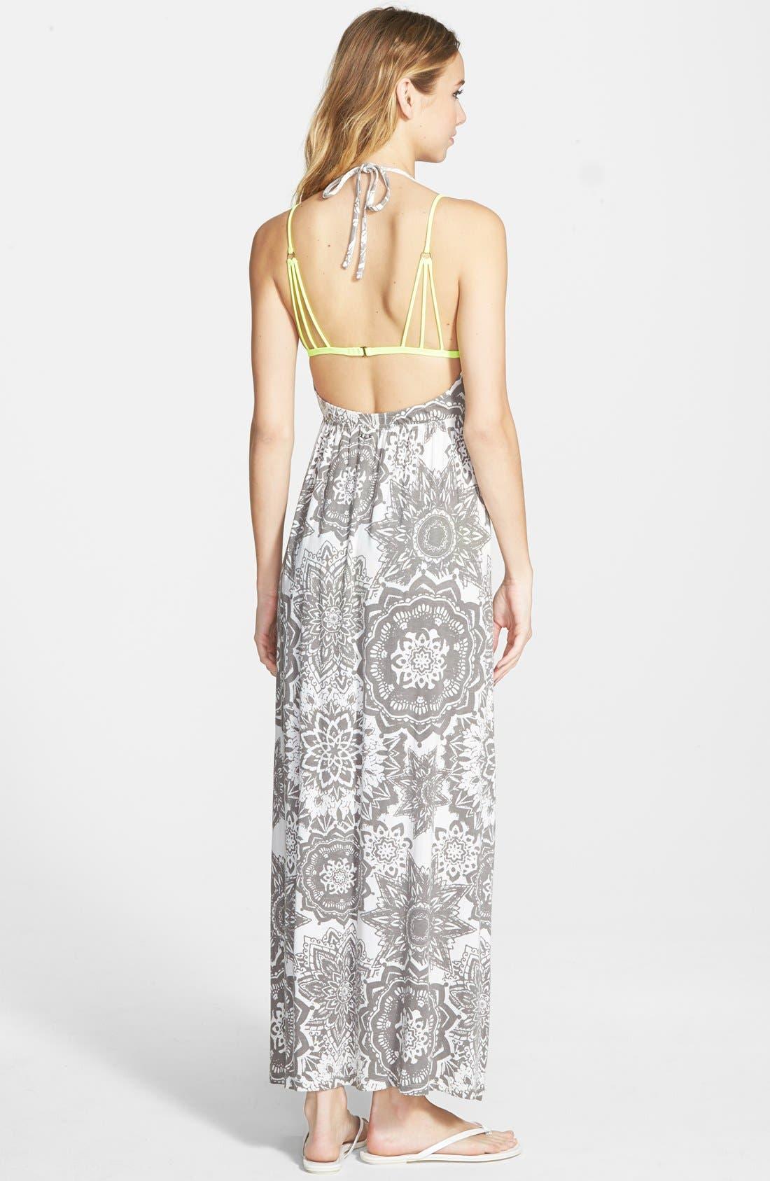 Alternate Image 2  - Rip Curl 'Painted Desert' Halter Maxi Dress