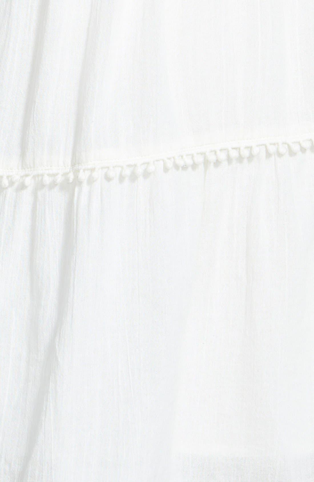 Alternate Image 3  - Sun & Shadow Cold Shoulder Dress (Juniors)