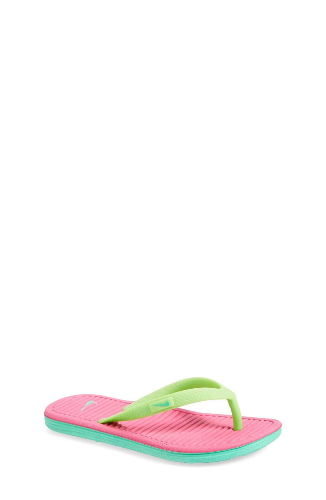 Alternate Image 1 Selected - Nike 'SolarSoft 2' Sandal (Toddler, Little Kid & Big Kid)