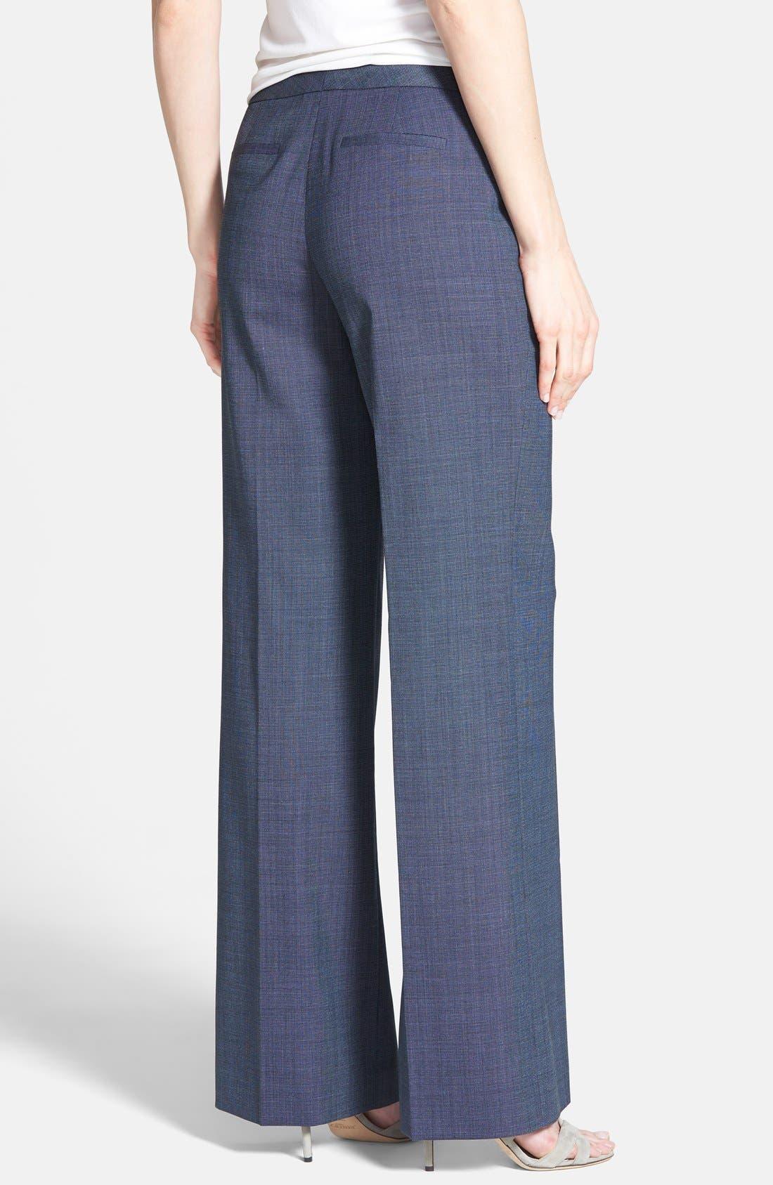 Alternate Image 2  - Classiques Entier® Suiting Trousers (Regular & Petite)