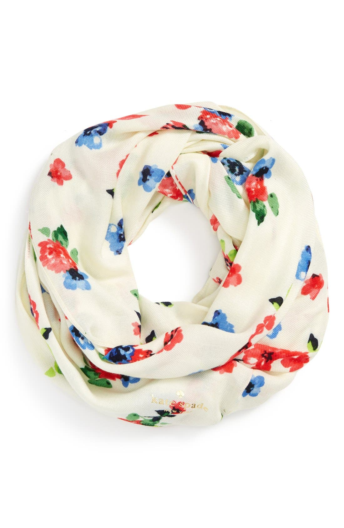 Alternate Image 3  - kate spade new york 'spring garden' infinity scarf