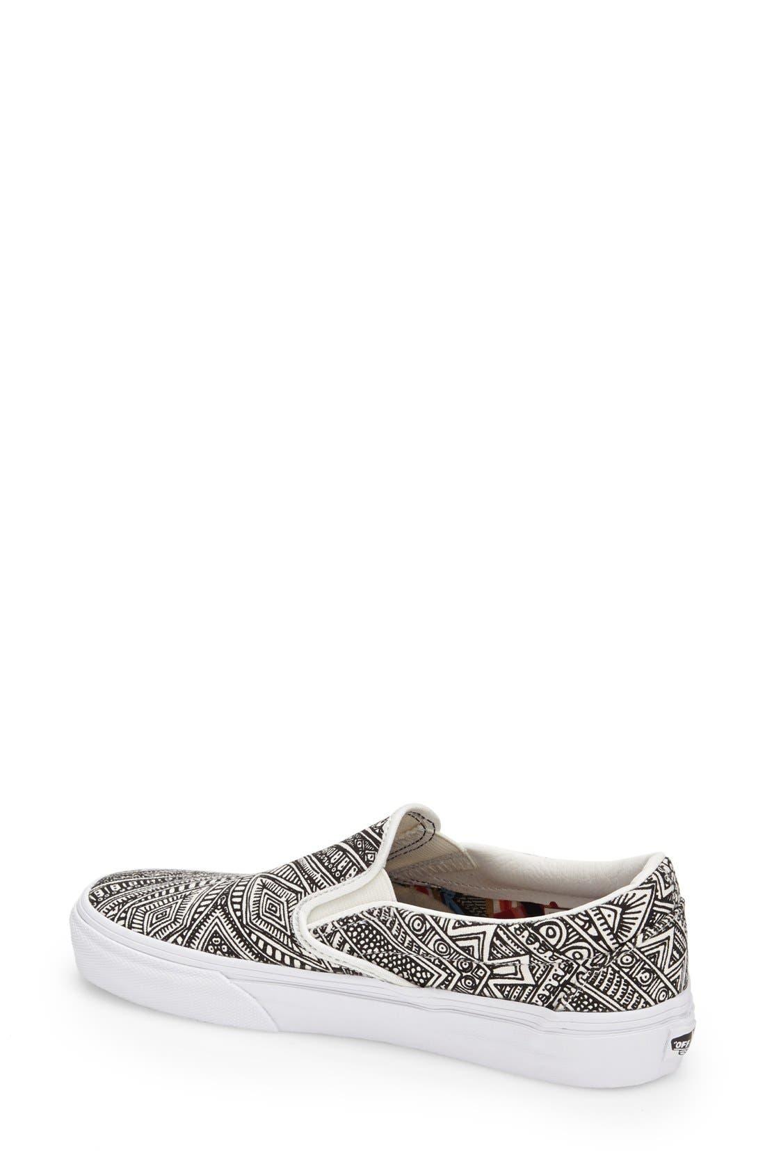 Alternate Image 2  - Vans 'Classic - Zio Ziegler' Slip-On Sneaker (Women)
