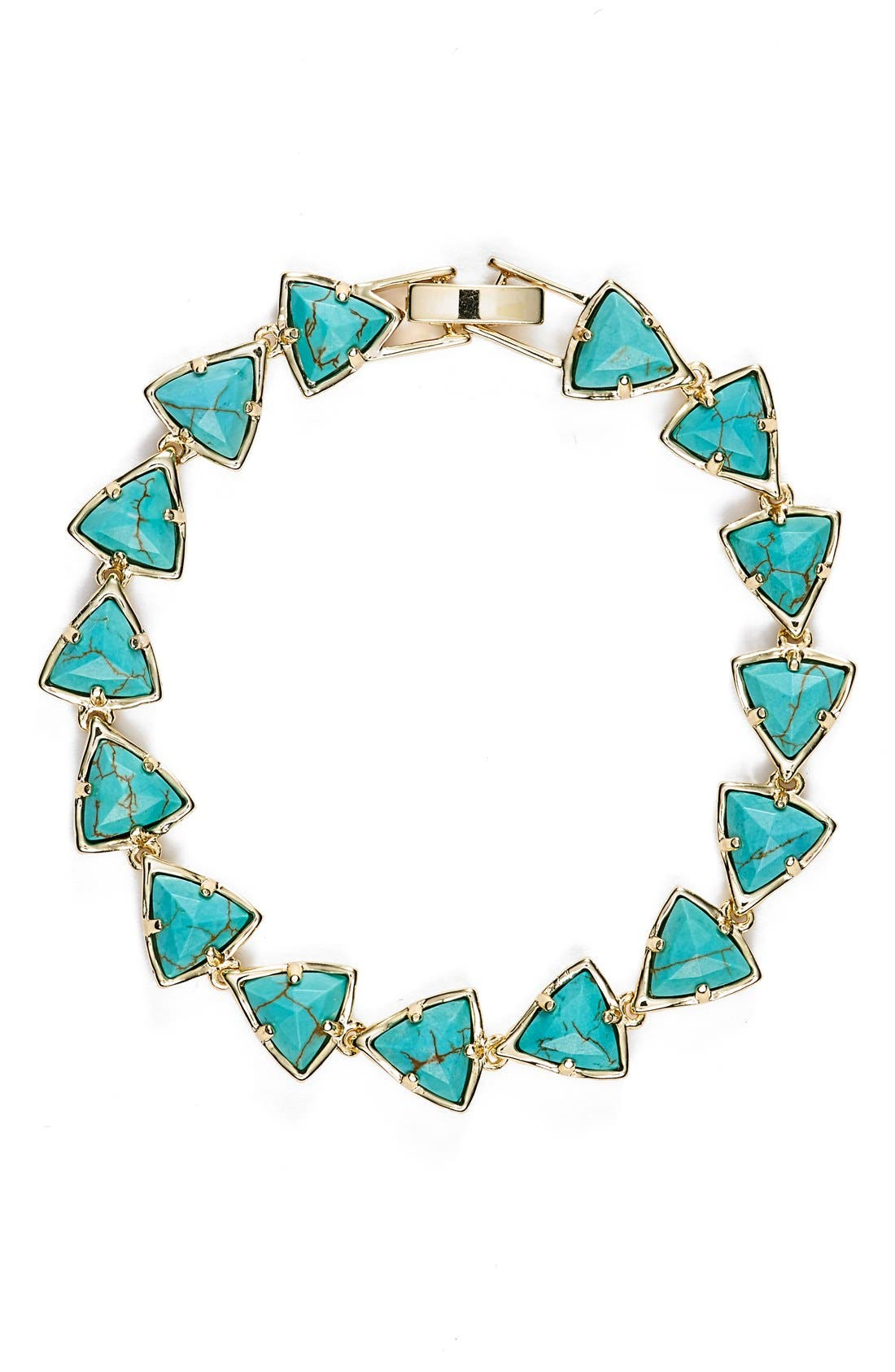 Alternate Image 1 Selected - Kendra Scott 'Ripley' Triangle Stone Bracelet