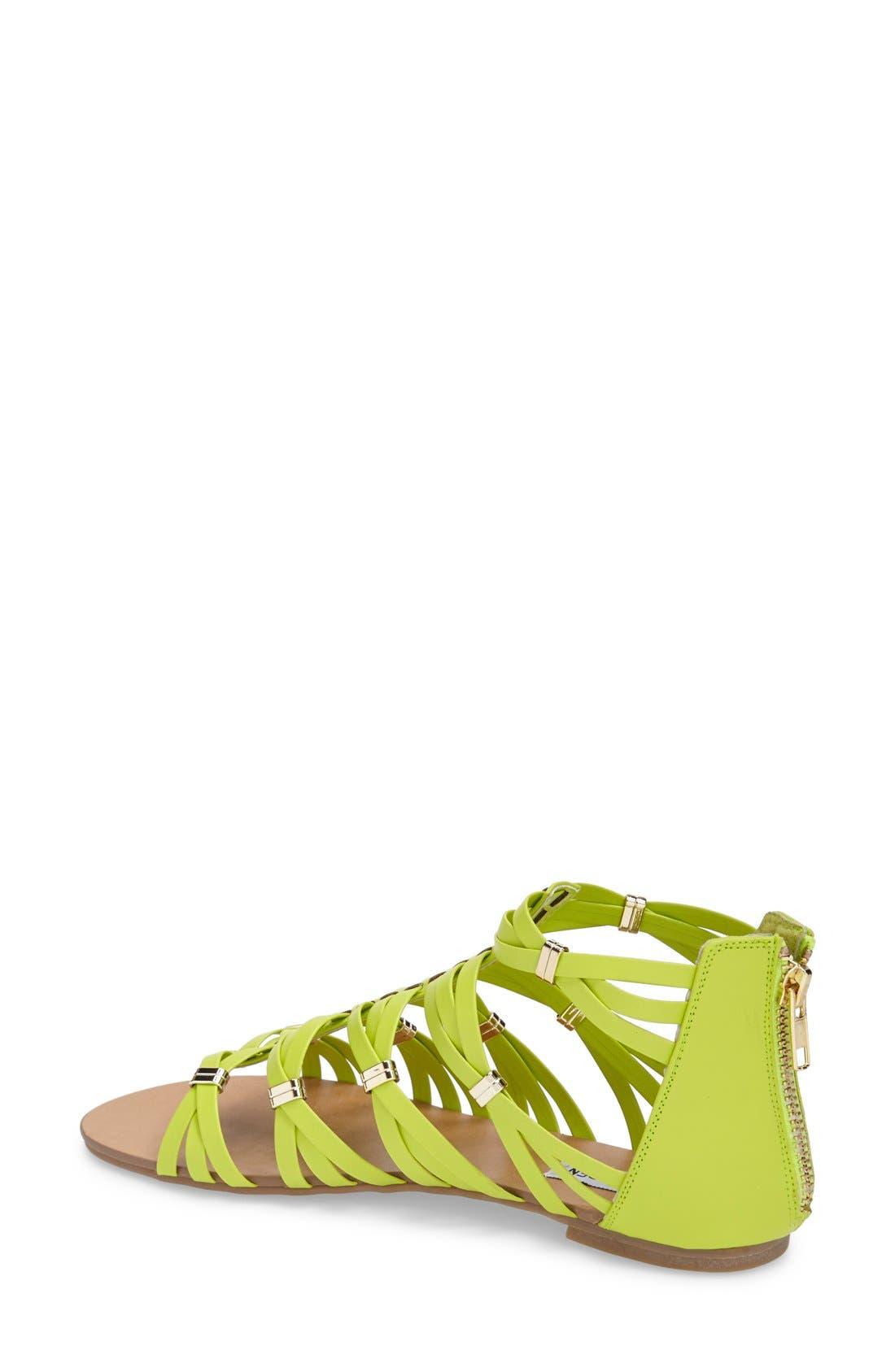 Alternate Image 2  - Steve Madden 'Cretee' Strappy Gladiator Sandal (Women)