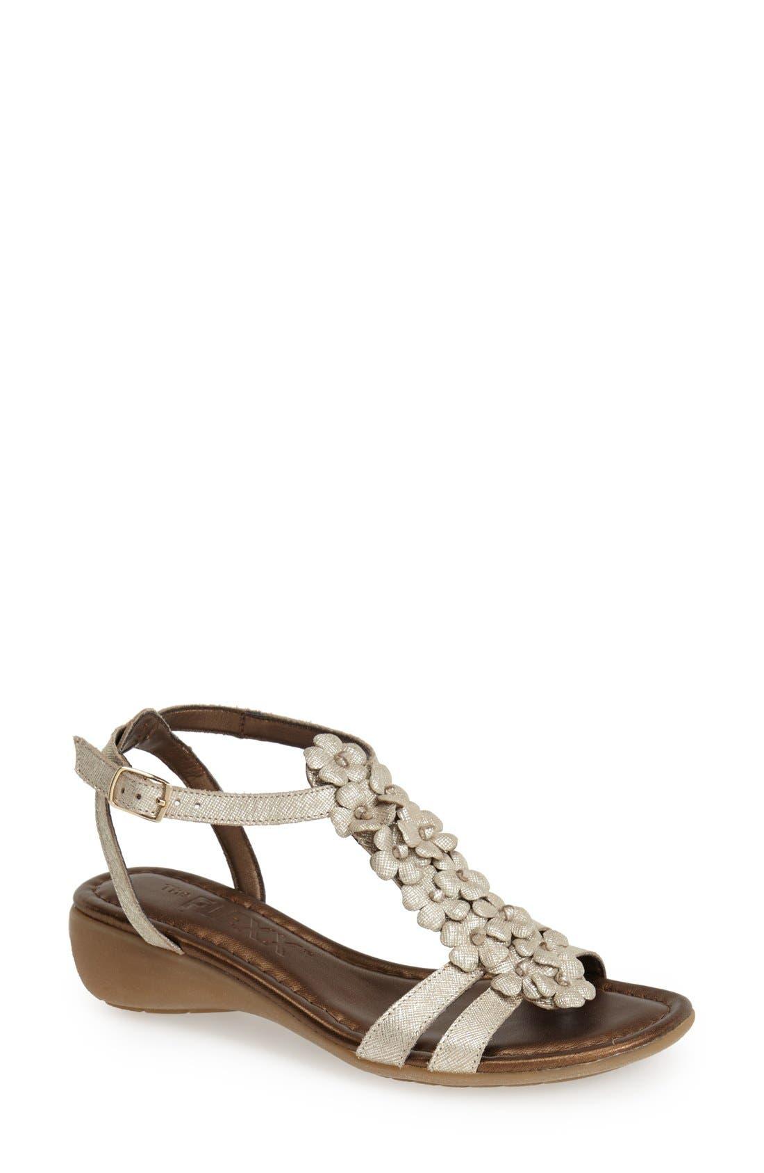 Main Image - The FLEXX 'Gladiola' Leather Sandal (Women)