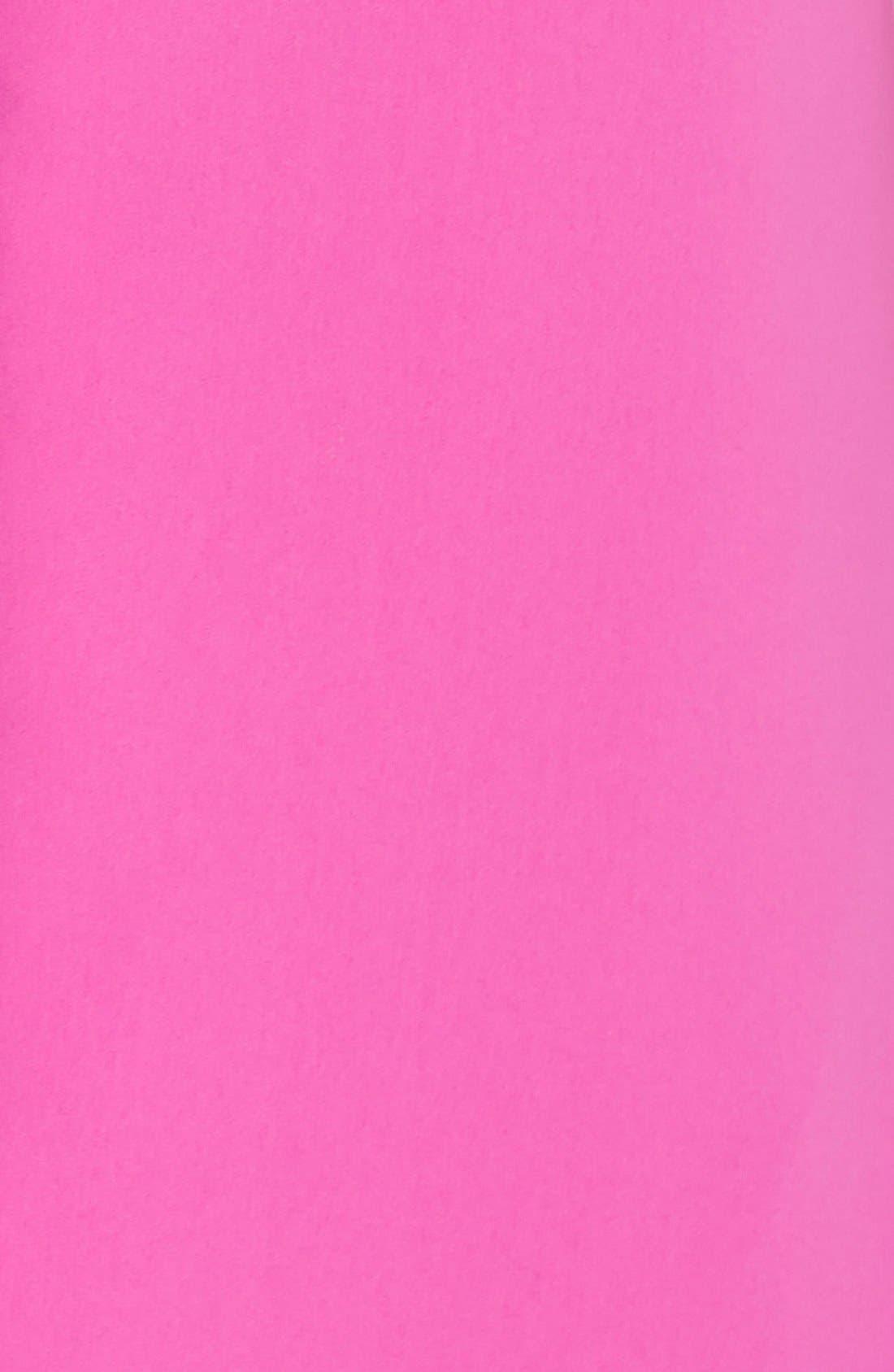 Alternate Image 4  - Pamella, Pamella Roland Ruffle Crepe Sheath