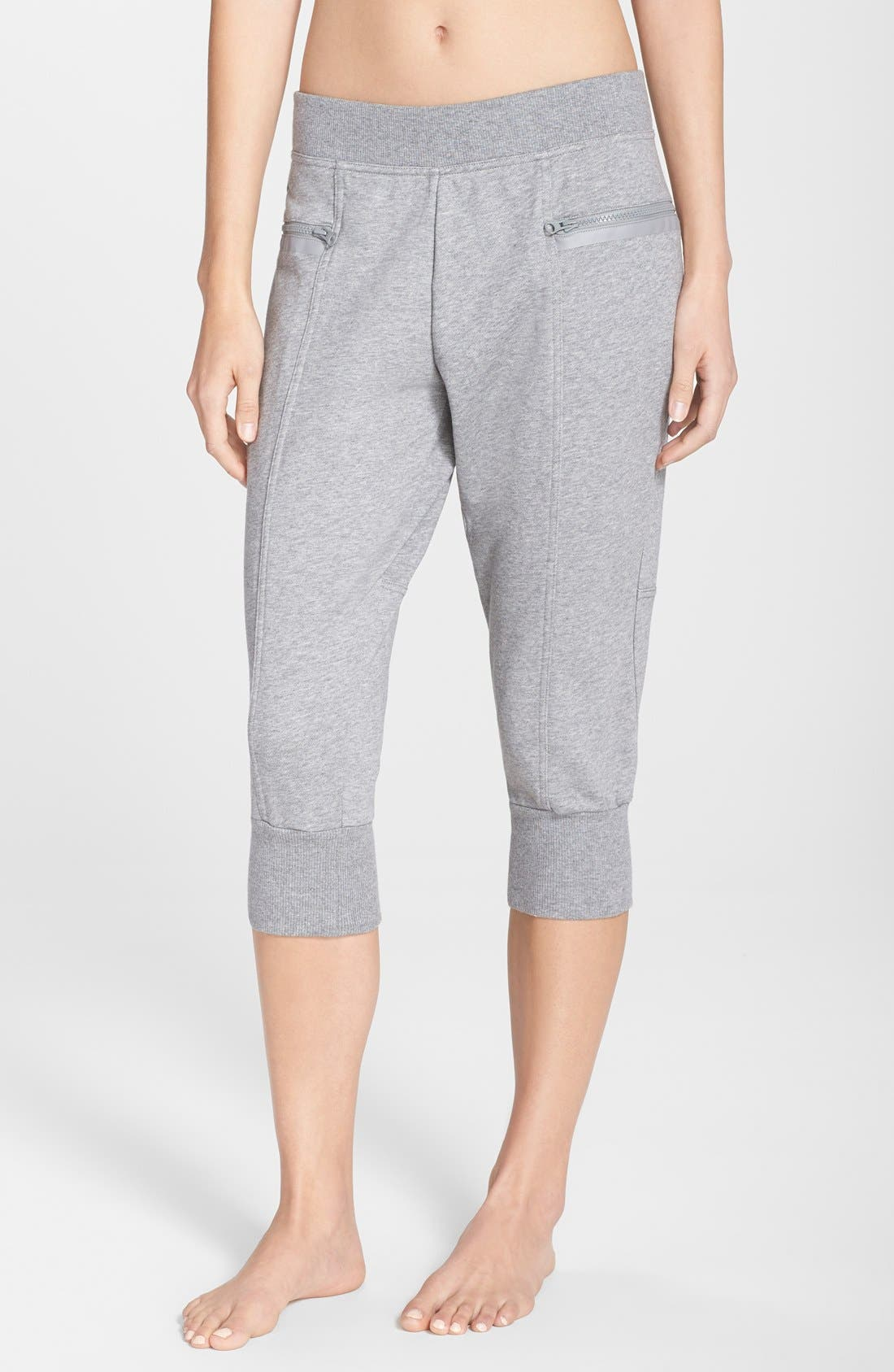 Alternate Image 1 Selected - adidas by Stella McCartney 'Ess' Organic Cotton Sweatpants