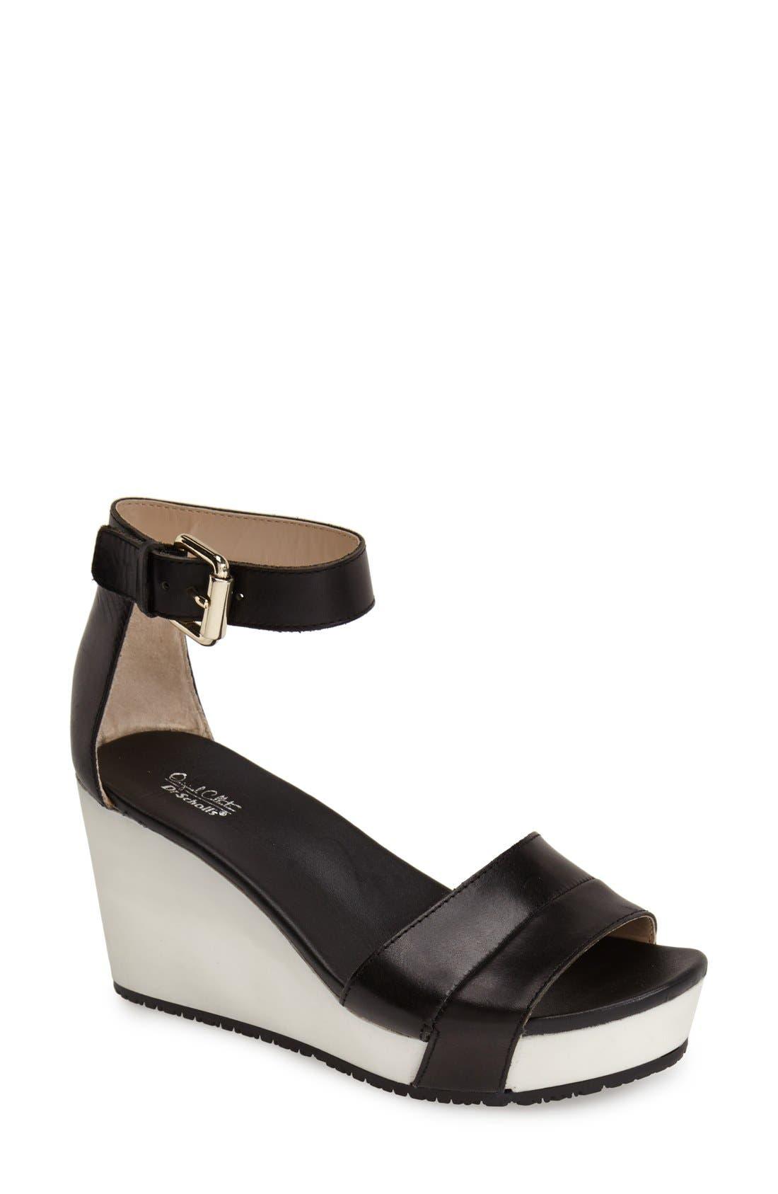 Alternate Image 1 Selected - Dr. Scholl's Original Collection 'Warner' Wedge Sandal (Women)