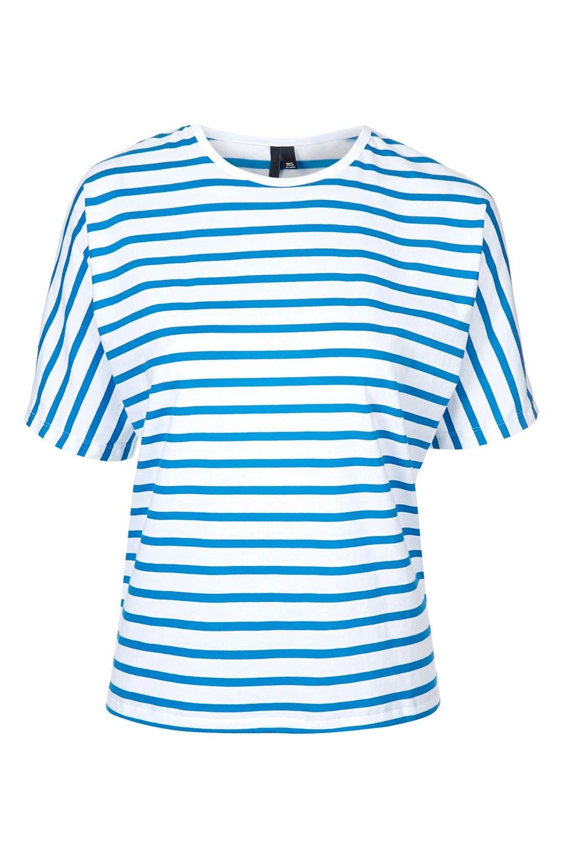 Alternate Image 3  - Topshop Boutique Seamless Stripe Tee
