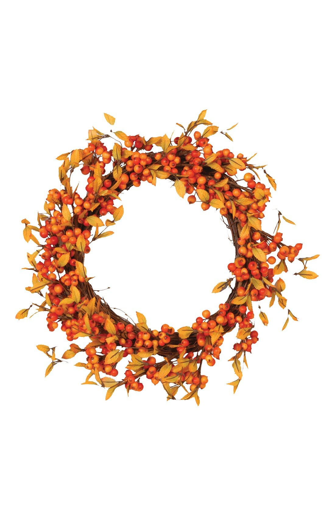Alternate Image 1 Selected - Fantastic Craft 'Fall Berry' Decorative Wreath