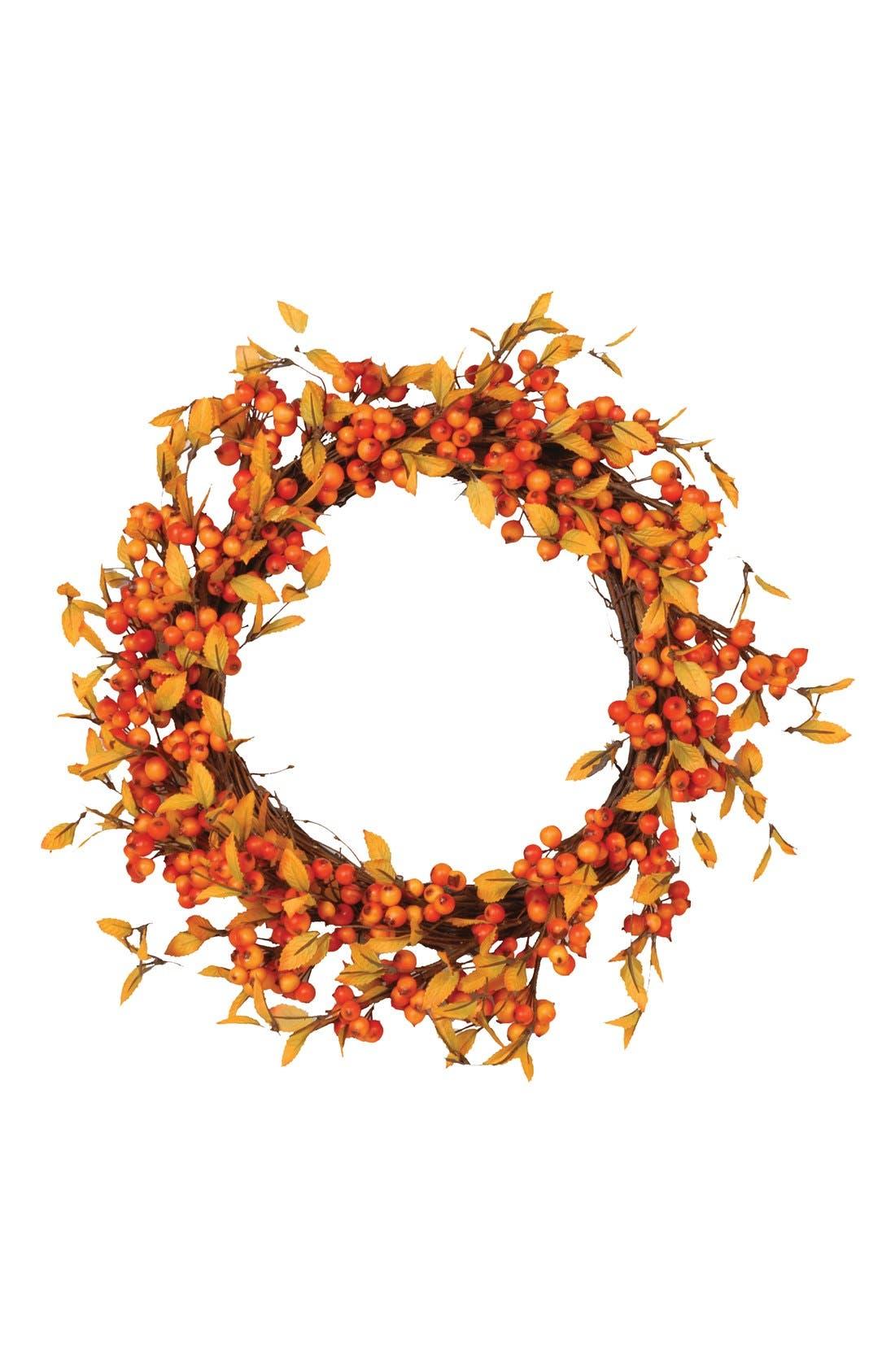 Main Image - Fantastic Craft 'Fall Berry' Decorative Wreath