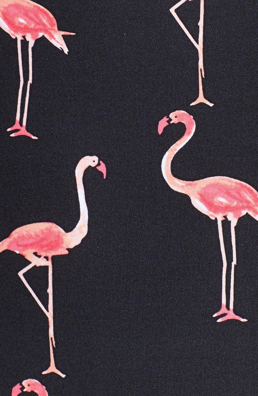 Alternate Image 3  - kate spade new york 'Playa Flamingo' Bustier One-Piece Swimsuit