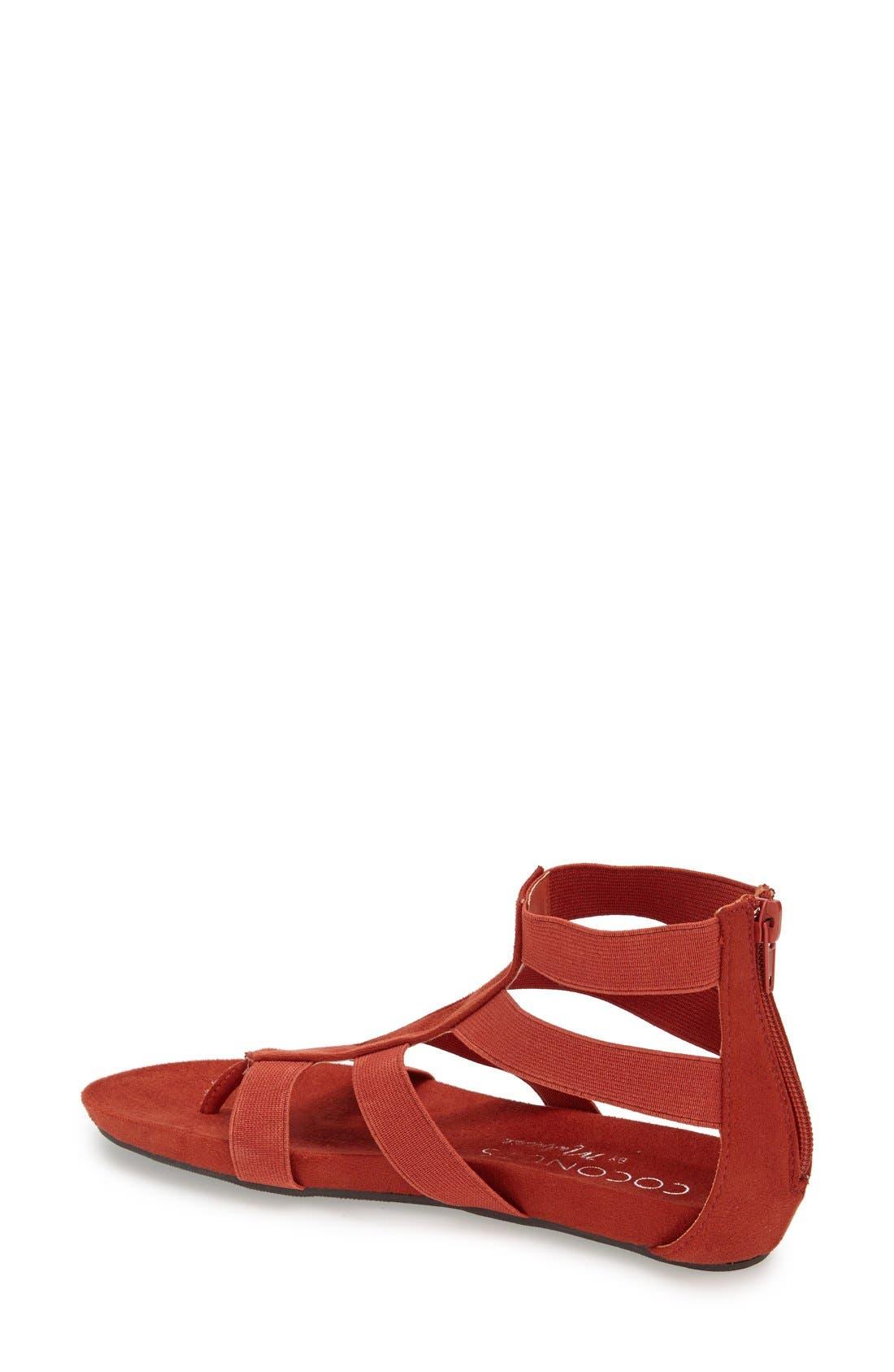 Alternate Image 2  - Coconuts by Matisse 'Zanda' Elastic Strap Gladiator Sandal (Women)