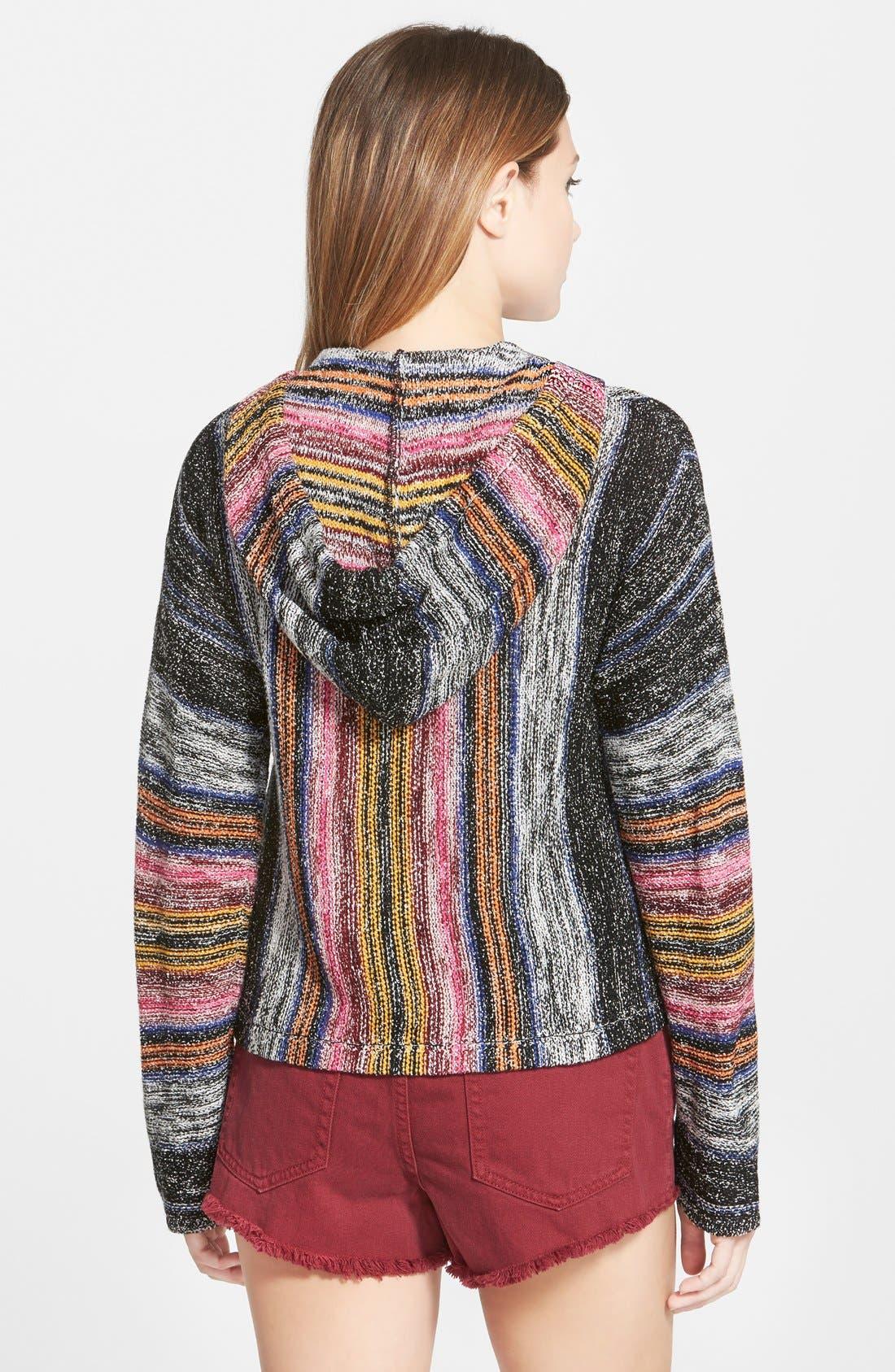 Alternate Image 2  - Billabong 'Baja' Poncho Sweater