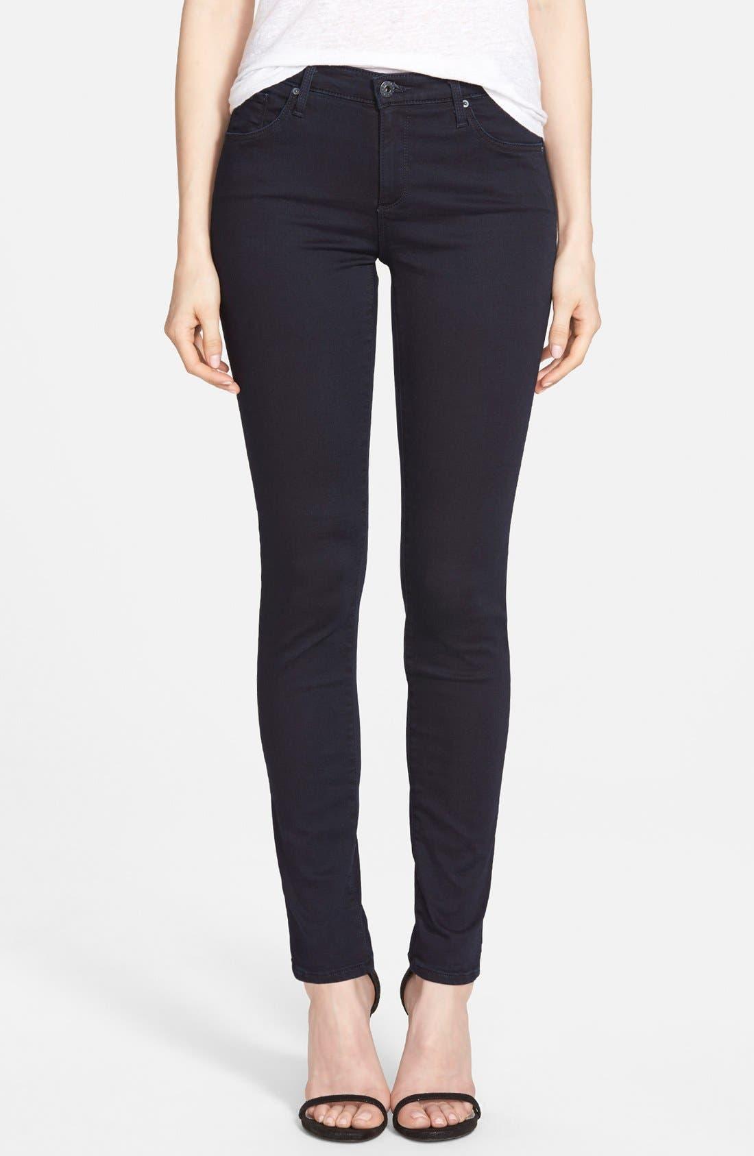 Main Image - AG 'Prima' Mid Rise Cigarette Jeans (Endless)