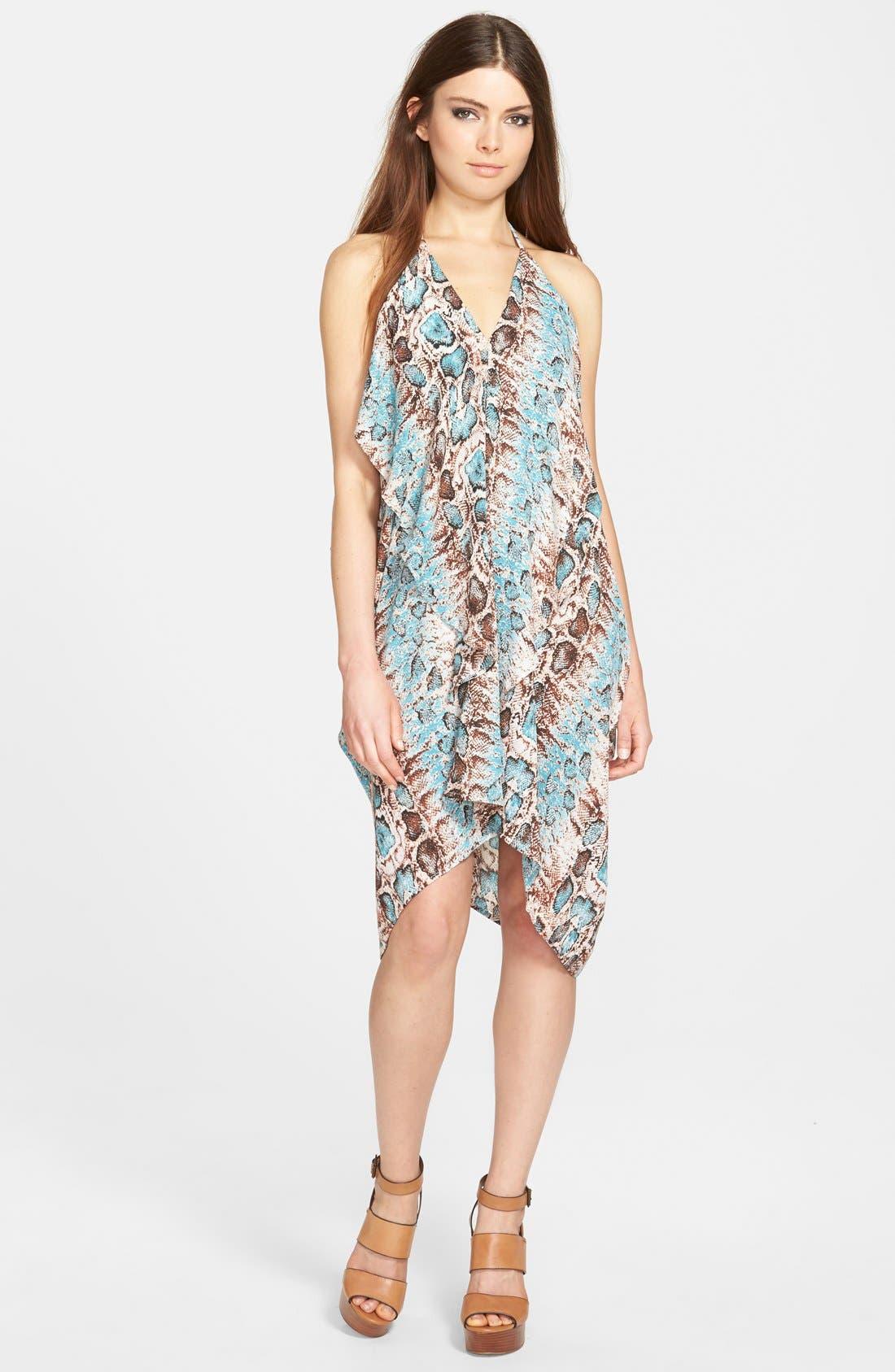 Main Image - Filtre Drapey Halter Dress