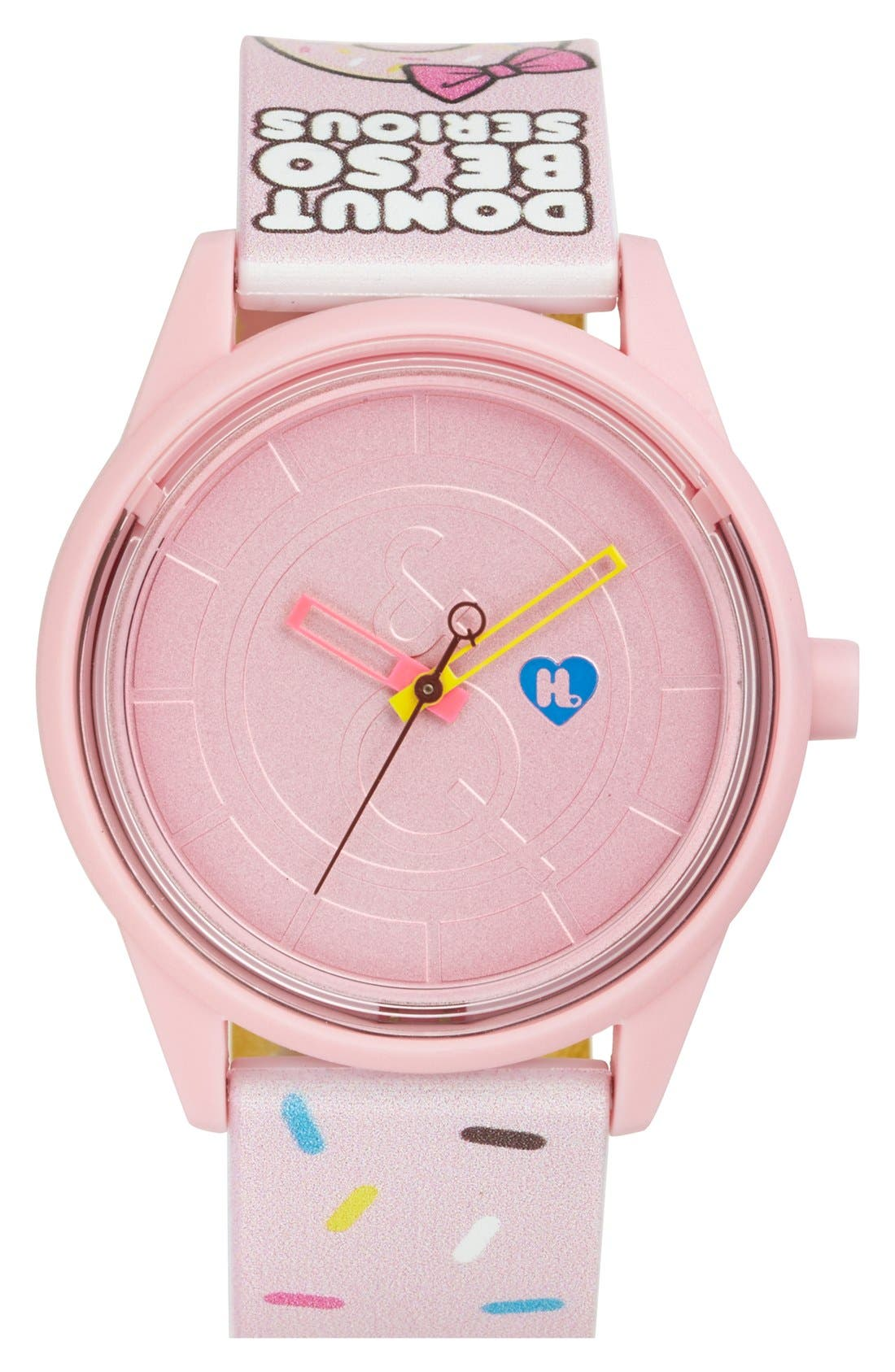 Main Image - Harajuku Lovers Resin Solar Watch, 40mm (Limited Edition)