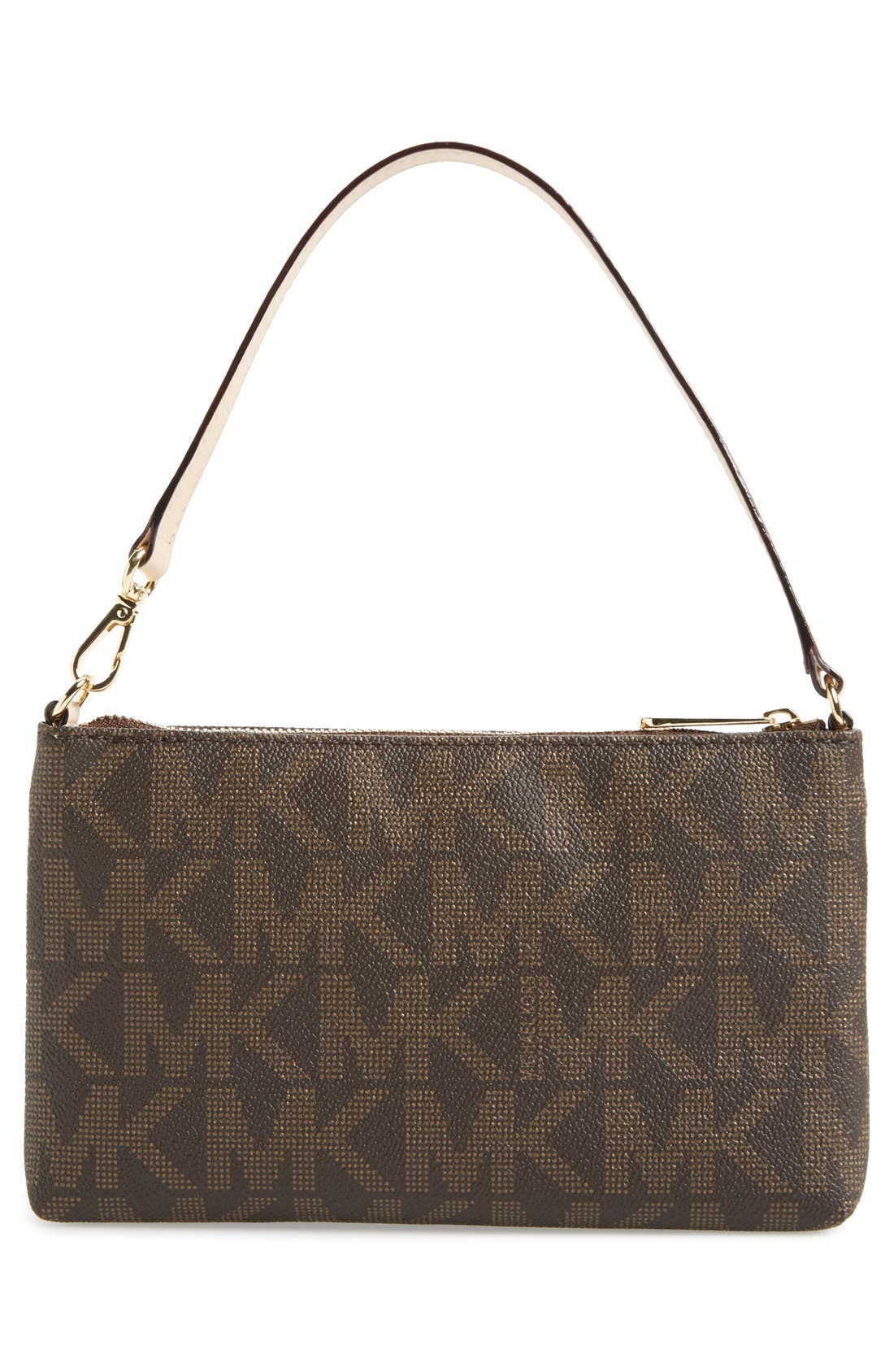 Alternate Image 3  - MICHAEL Michael Kors 'Signature – Large' Zip Wristlet
