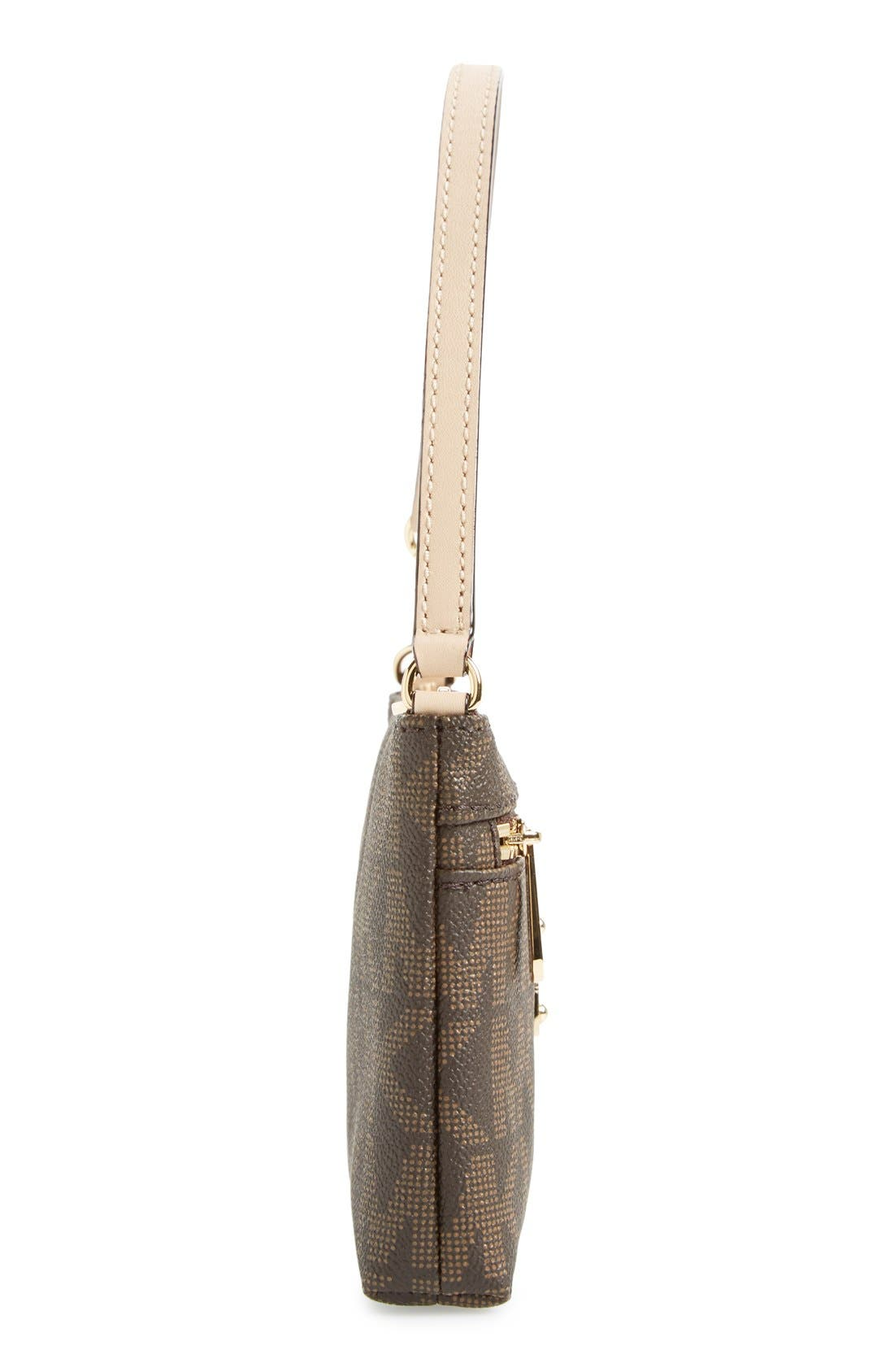 Alternate Image 5  - MICHAEL Michael Kors 'Signature – Large' Zip Wristlet