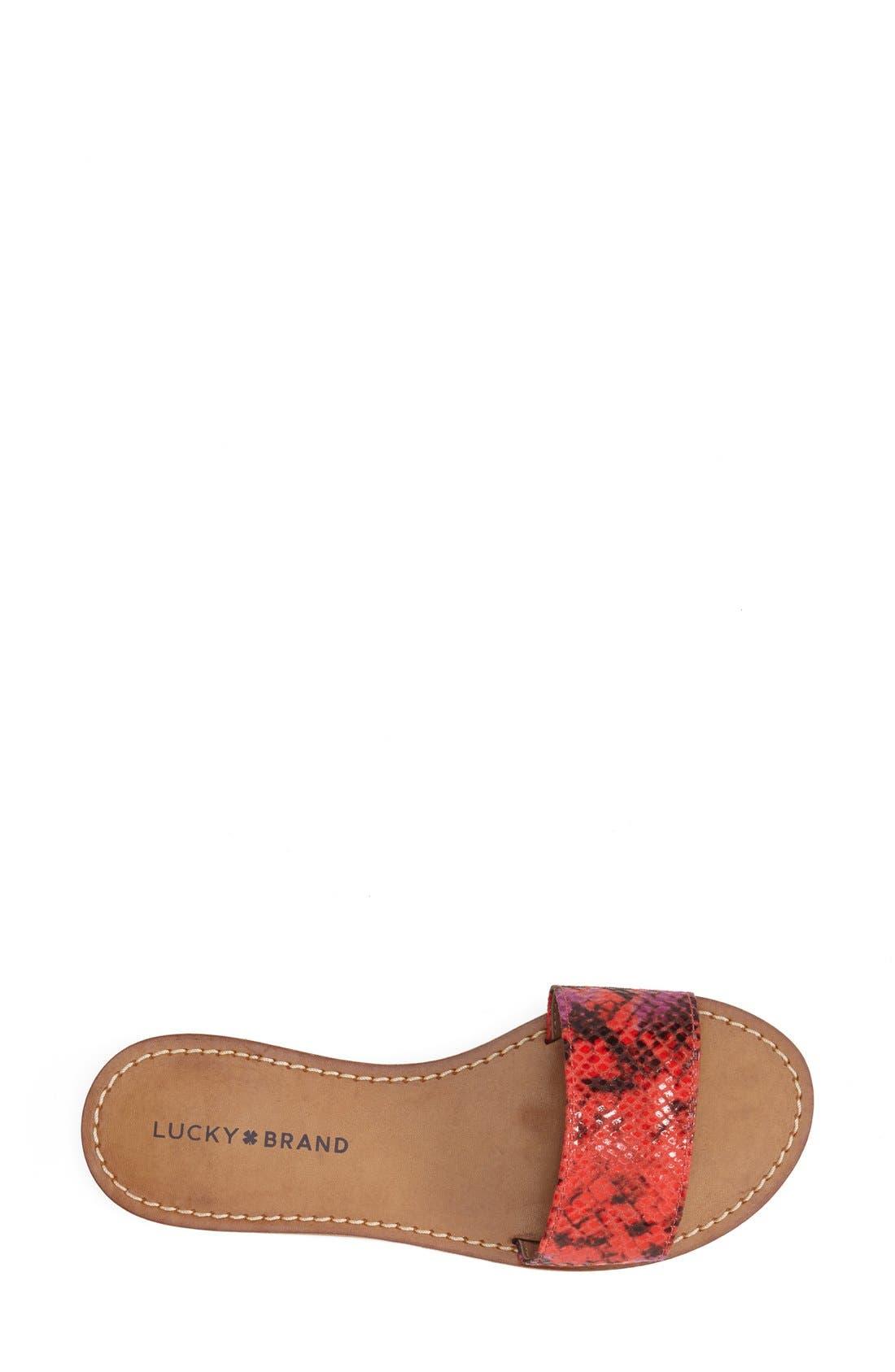 Alternate Image 3  - Lucky Brand 'Deldonna' Slide Sandal (Women)
