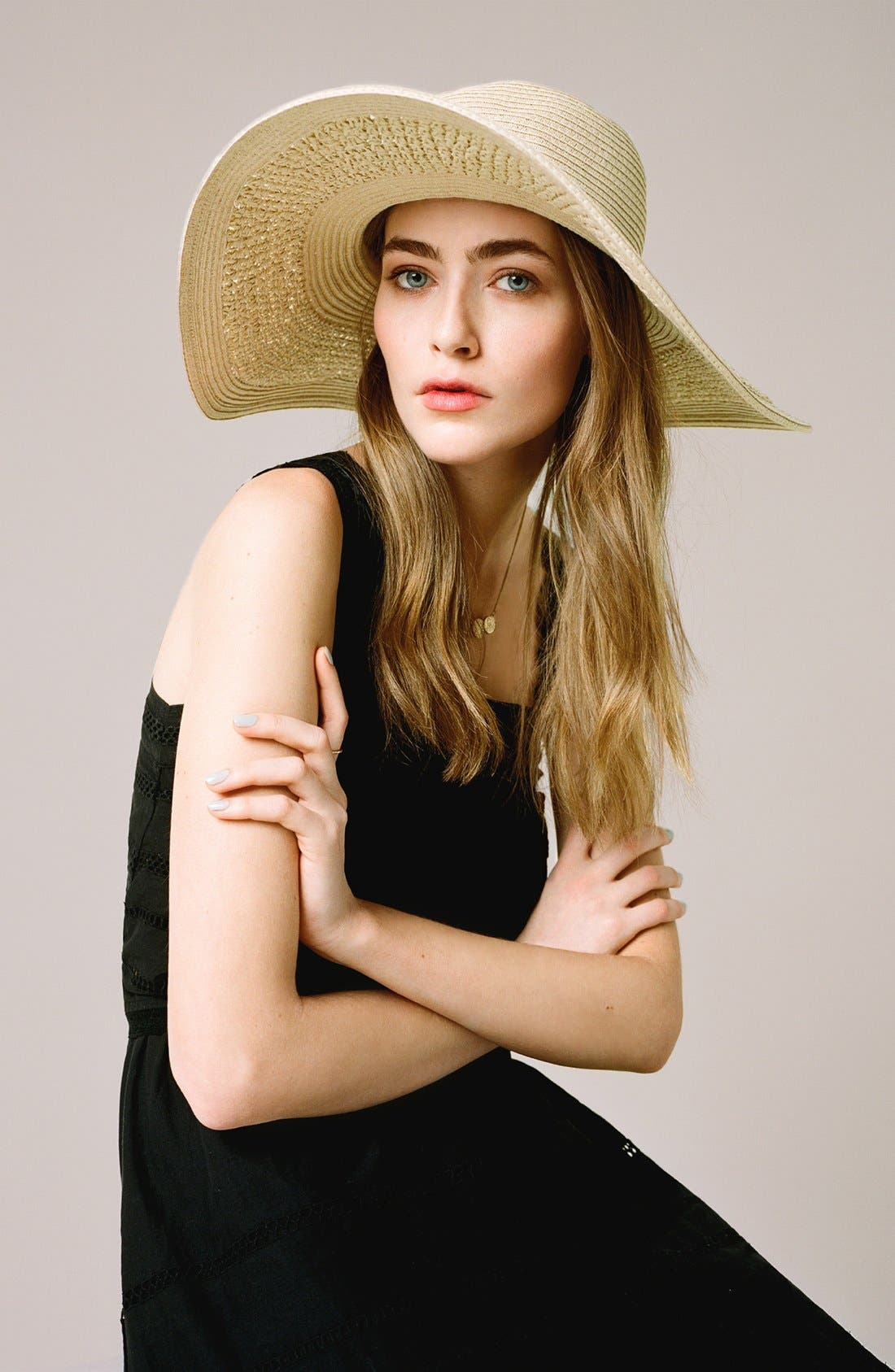 Alternate Image 4  - Topshop Crochet Floppy Hat