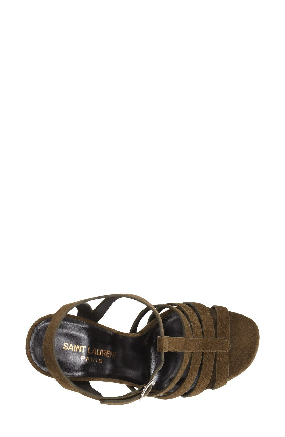 Alternate Image 3  - Saint Laurent 'Bianca' Platform Sandal (Women)