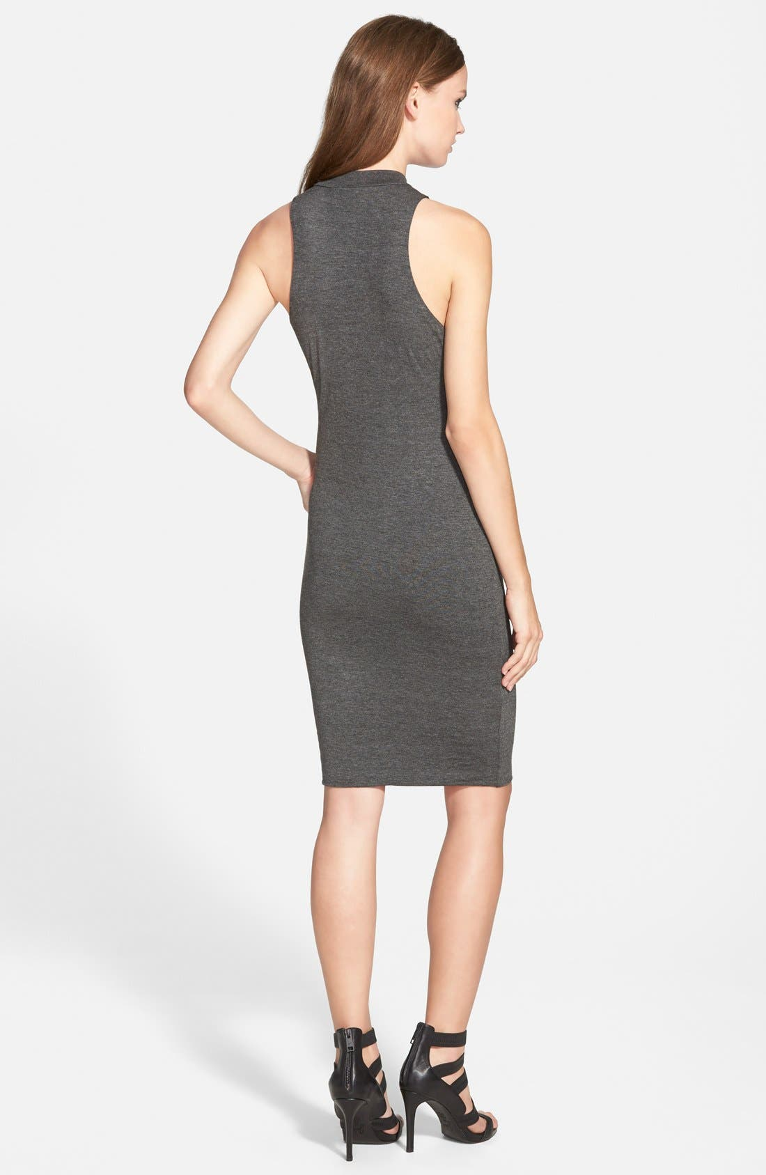 Alternate Image 2  - Leith Mock Neck Midi Dress