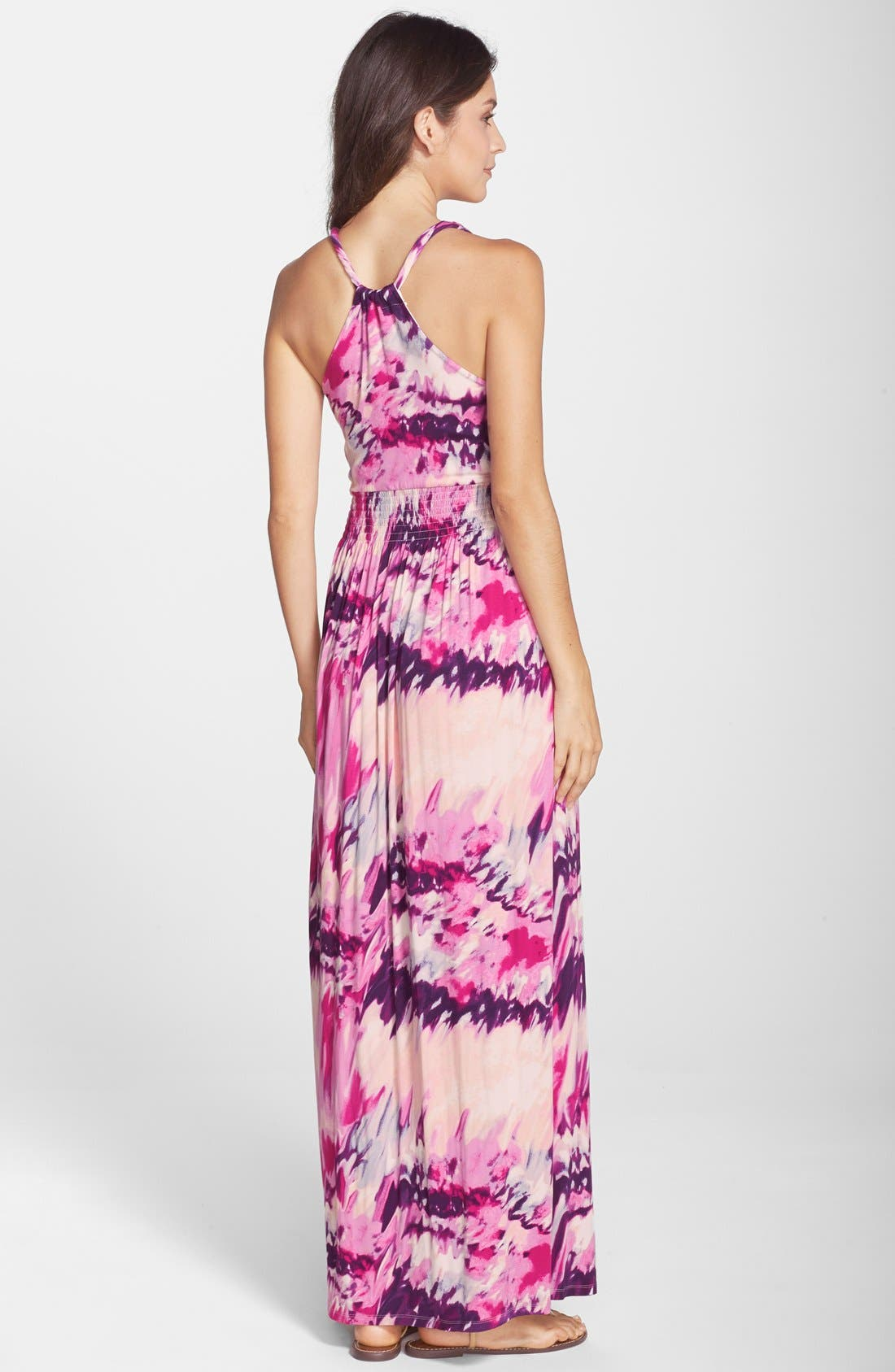 Alternate Image 2  - Felicity & Coco 'Nina' Print Jersey Maxi Dress (Regular & Petite) (Nordstrom Exclusive)
