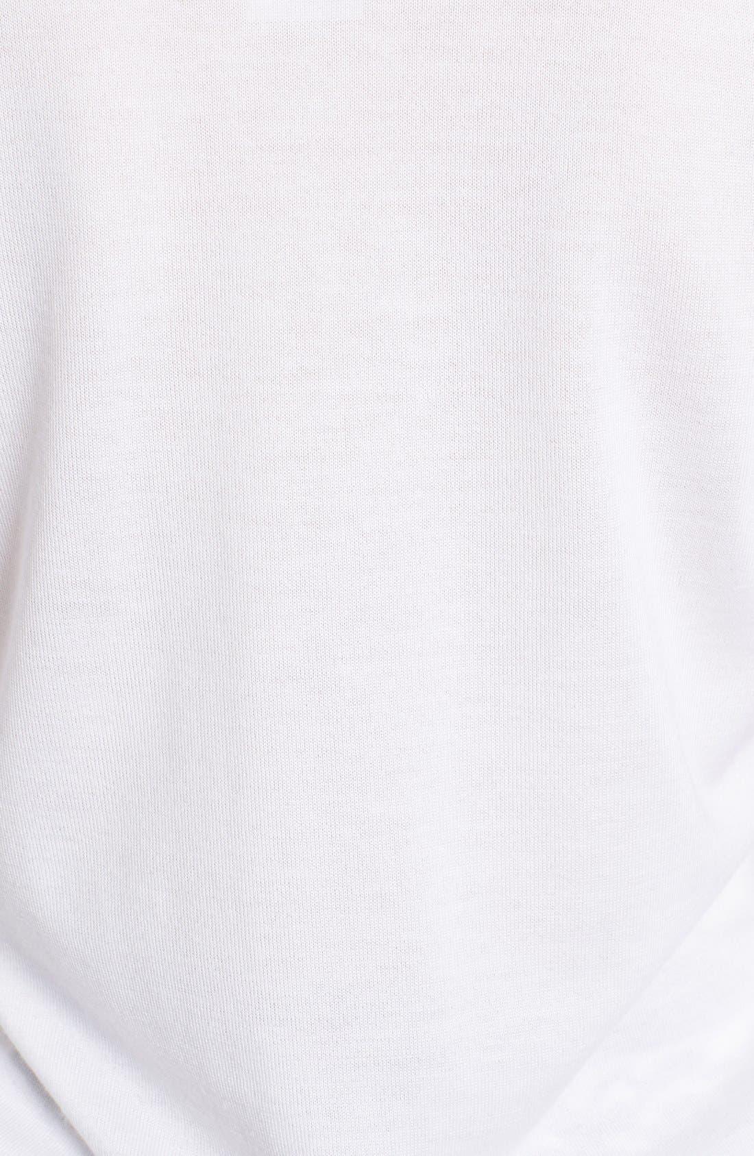 Alternate Image 3  - Dolce&Gabbana V-Neck Cashmere & Silk Sweater