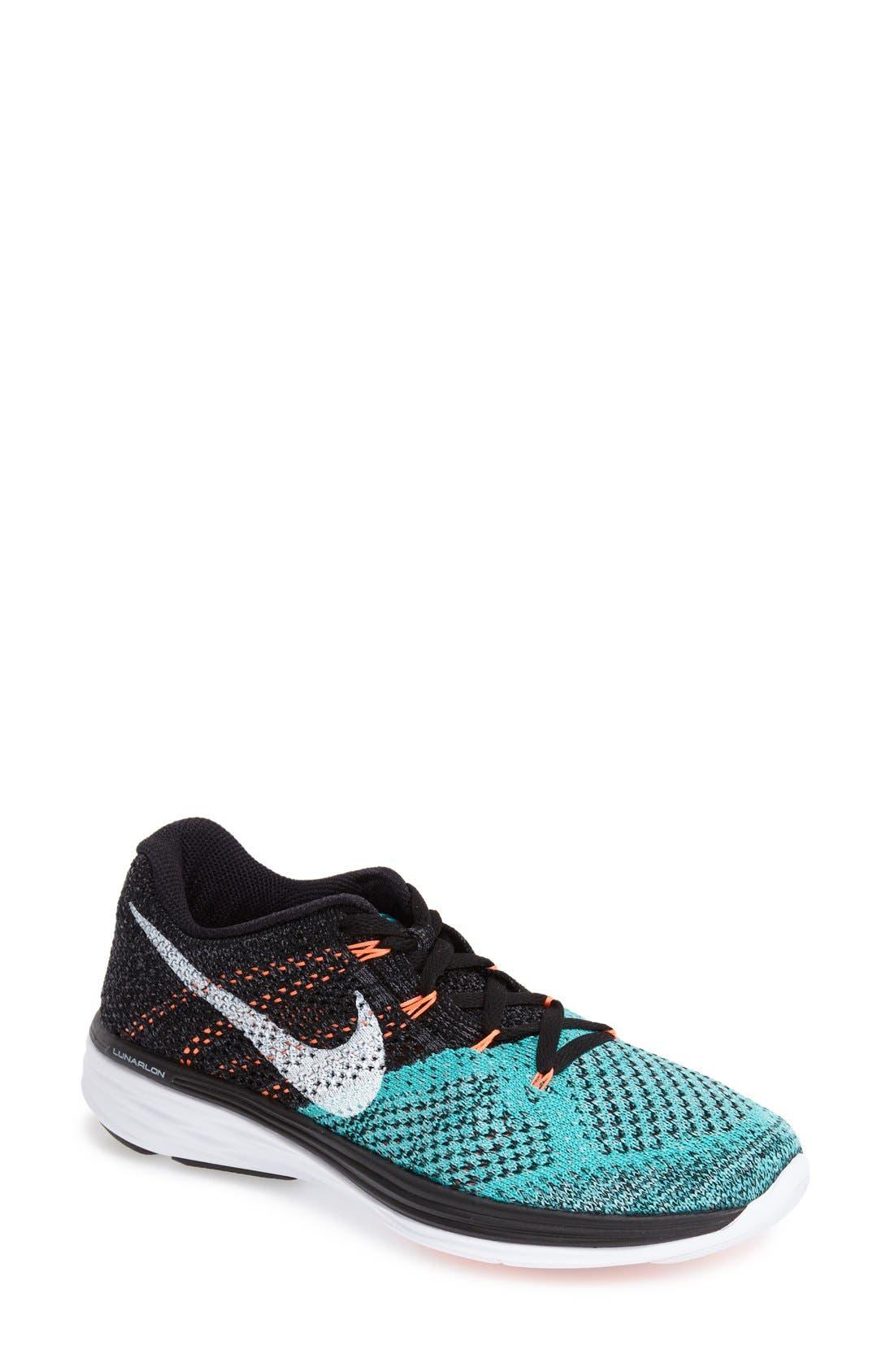 Alternate Image 1 Selected - Nike 'Flyknit Lunar 3' Running Shoe (Women)