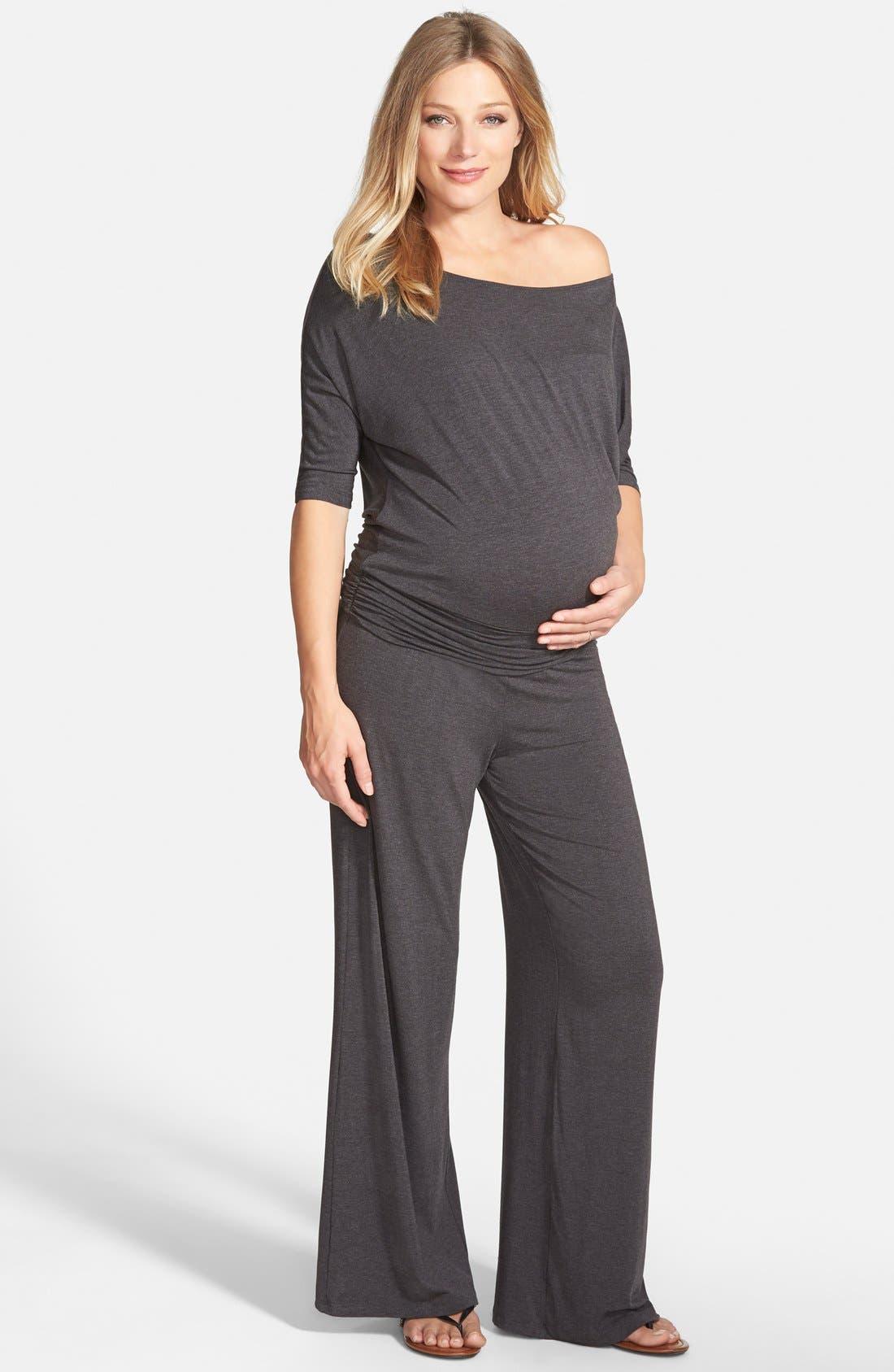 Alternate Image 1 Selected - Tart Maternity 'Michelle' Maternity Jumpsuit