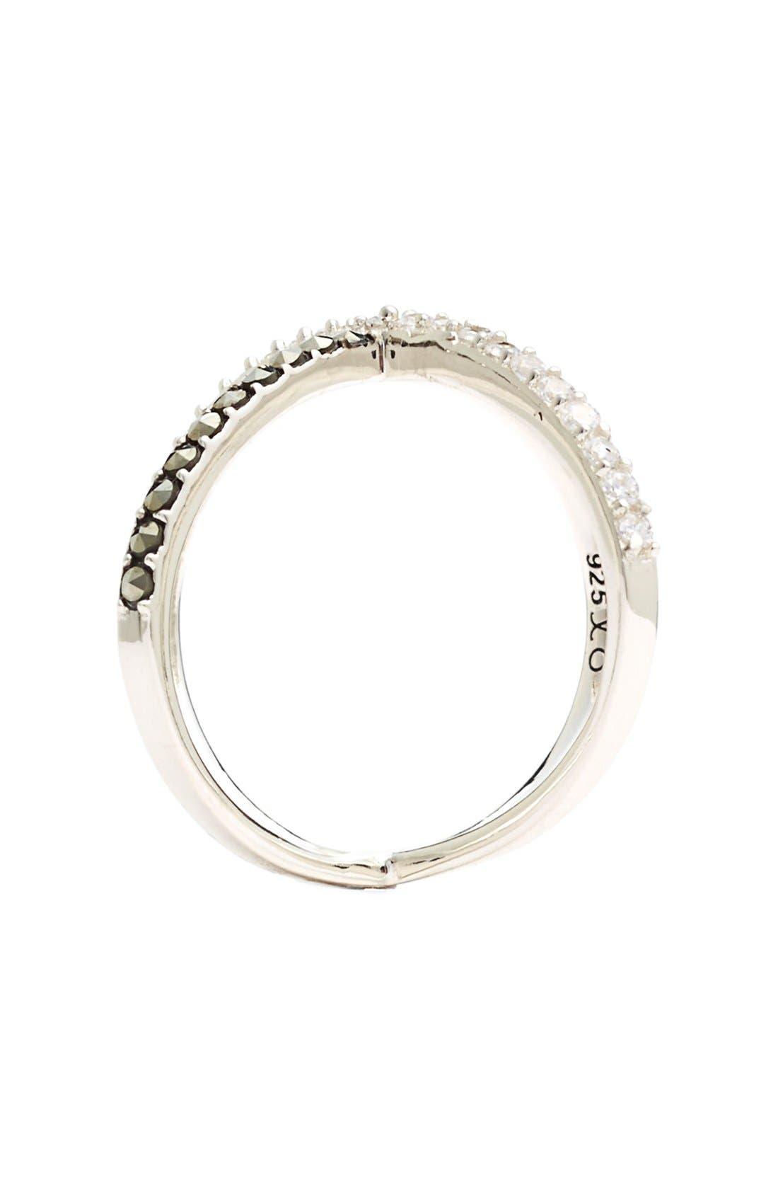 Alternate Image 2  - Judith Jack 'Rings & Things' Crossover Ring