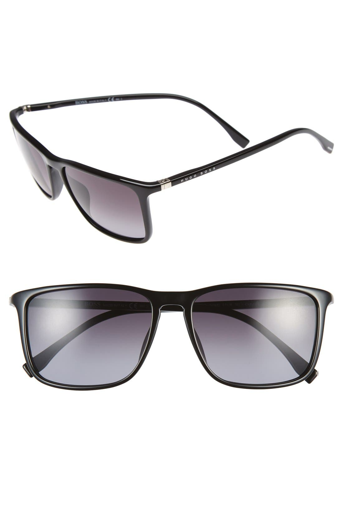 BOSS 57mm Retro Sunglasses