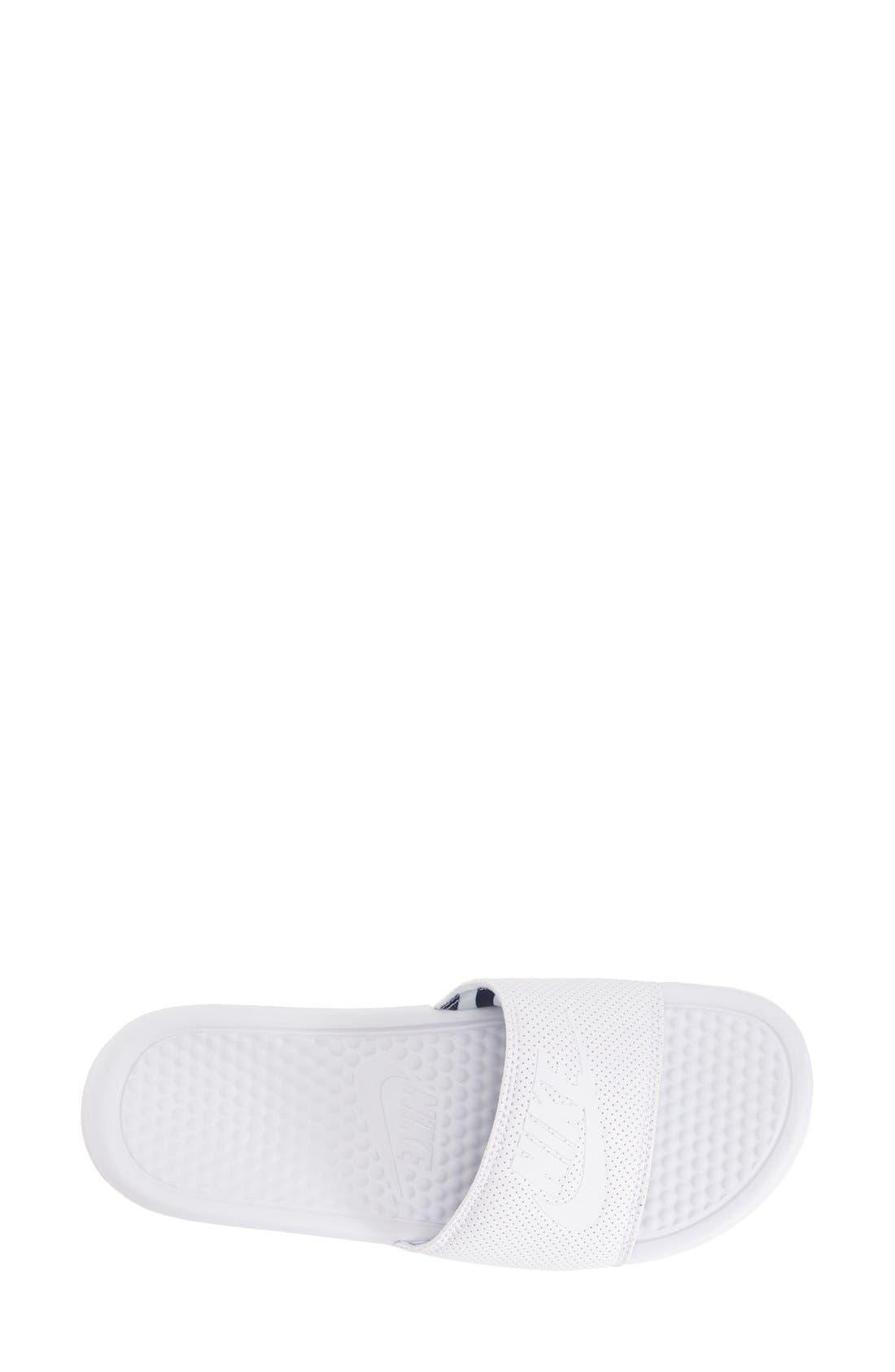 Alternate Image 4  - Nike 'Benassi - Just Do It' Slide Sandal (Women)